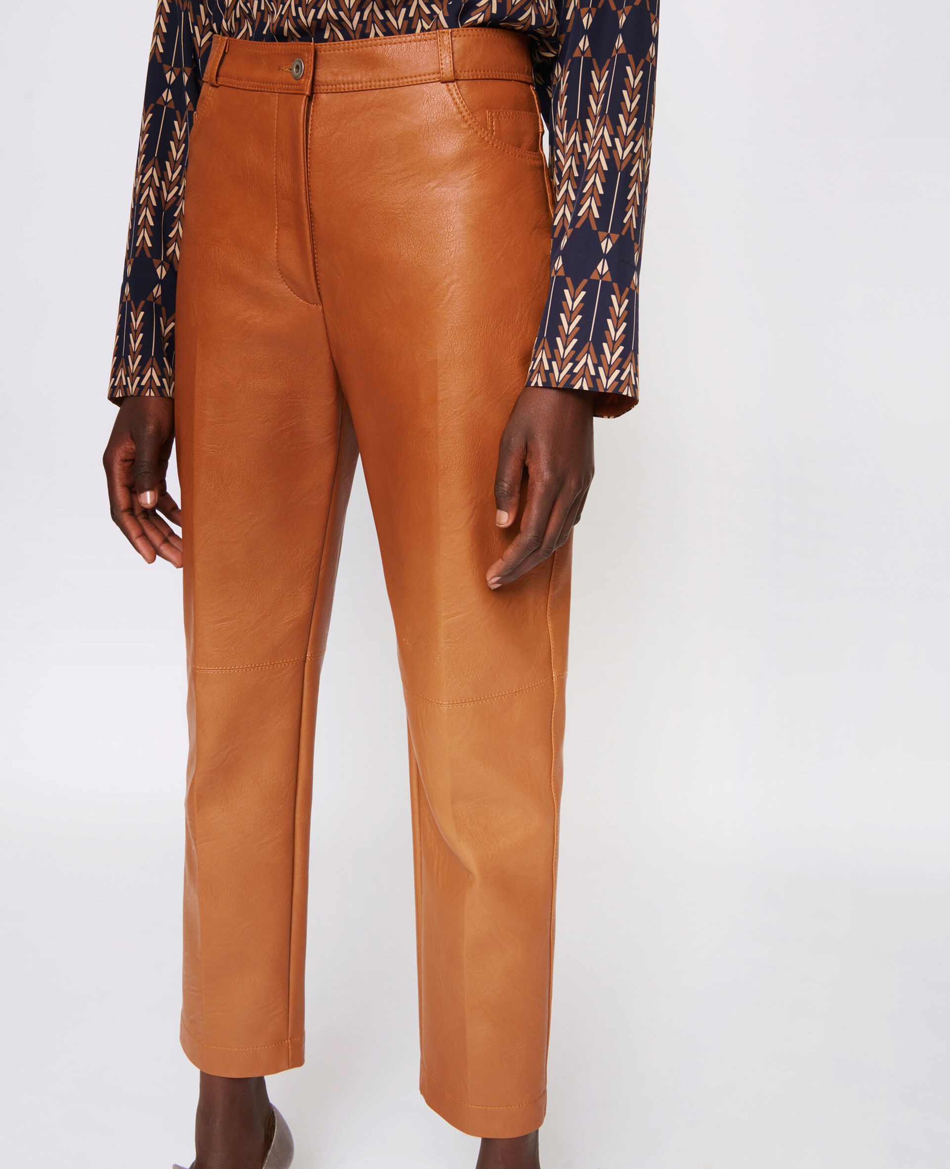 Hailey Trousers -Brown-large image number 3