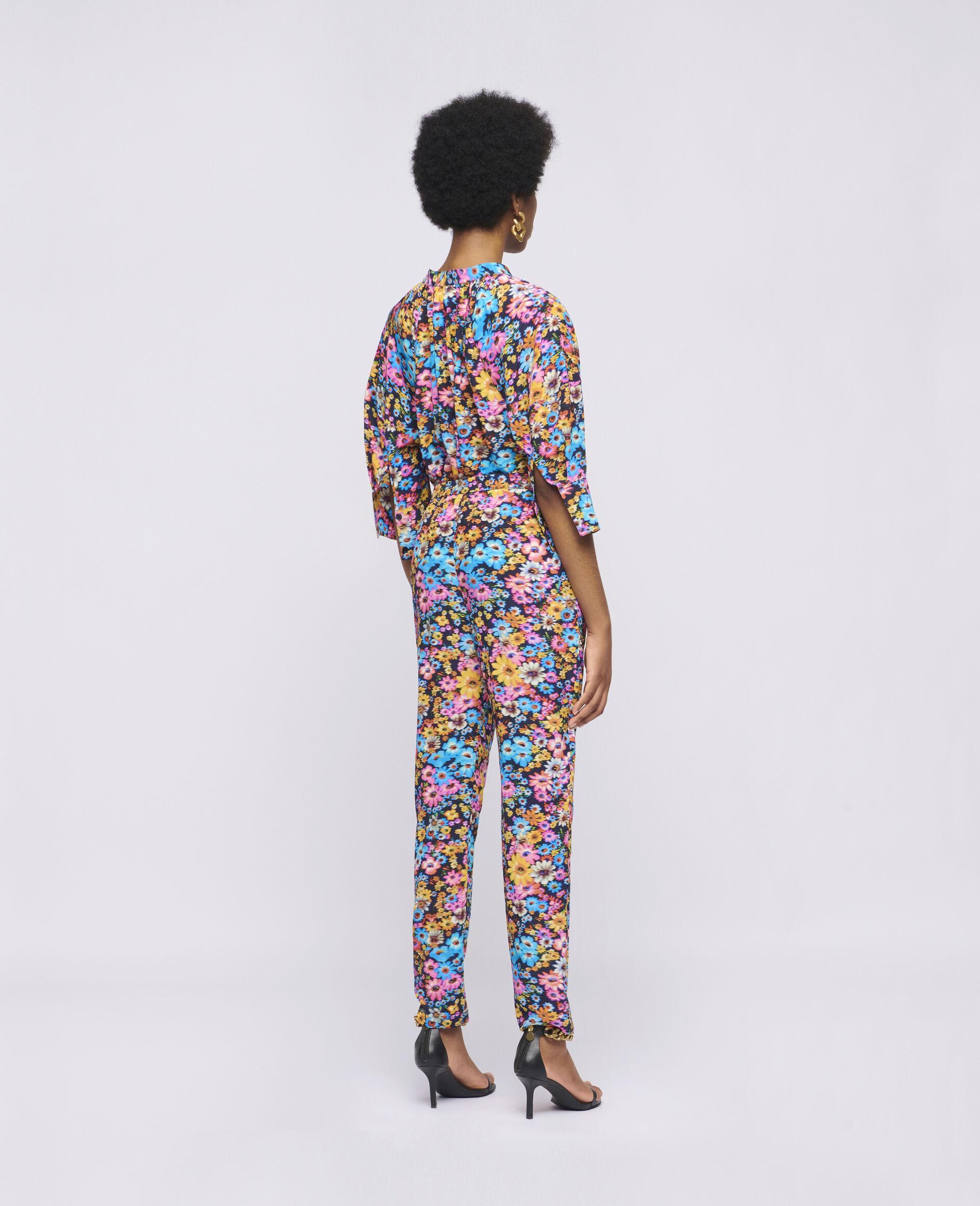 Sophia Silk Top-Multicolour-large image number 2