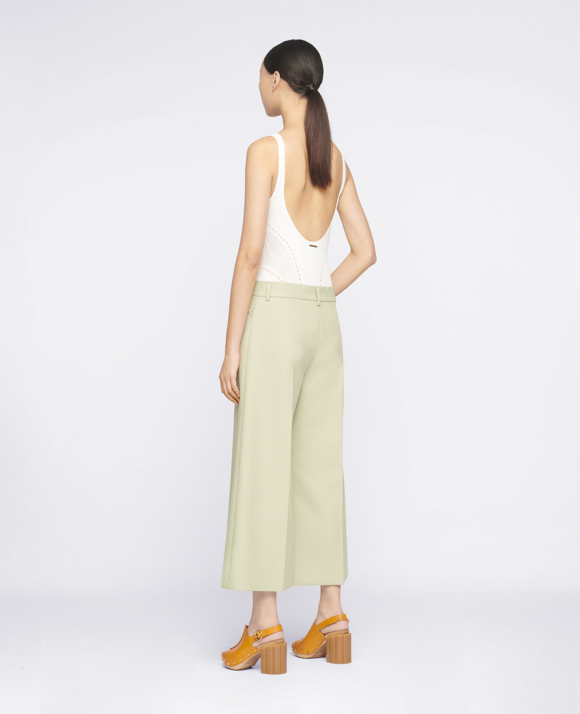 Audrey Trousers-Green-large image number 2