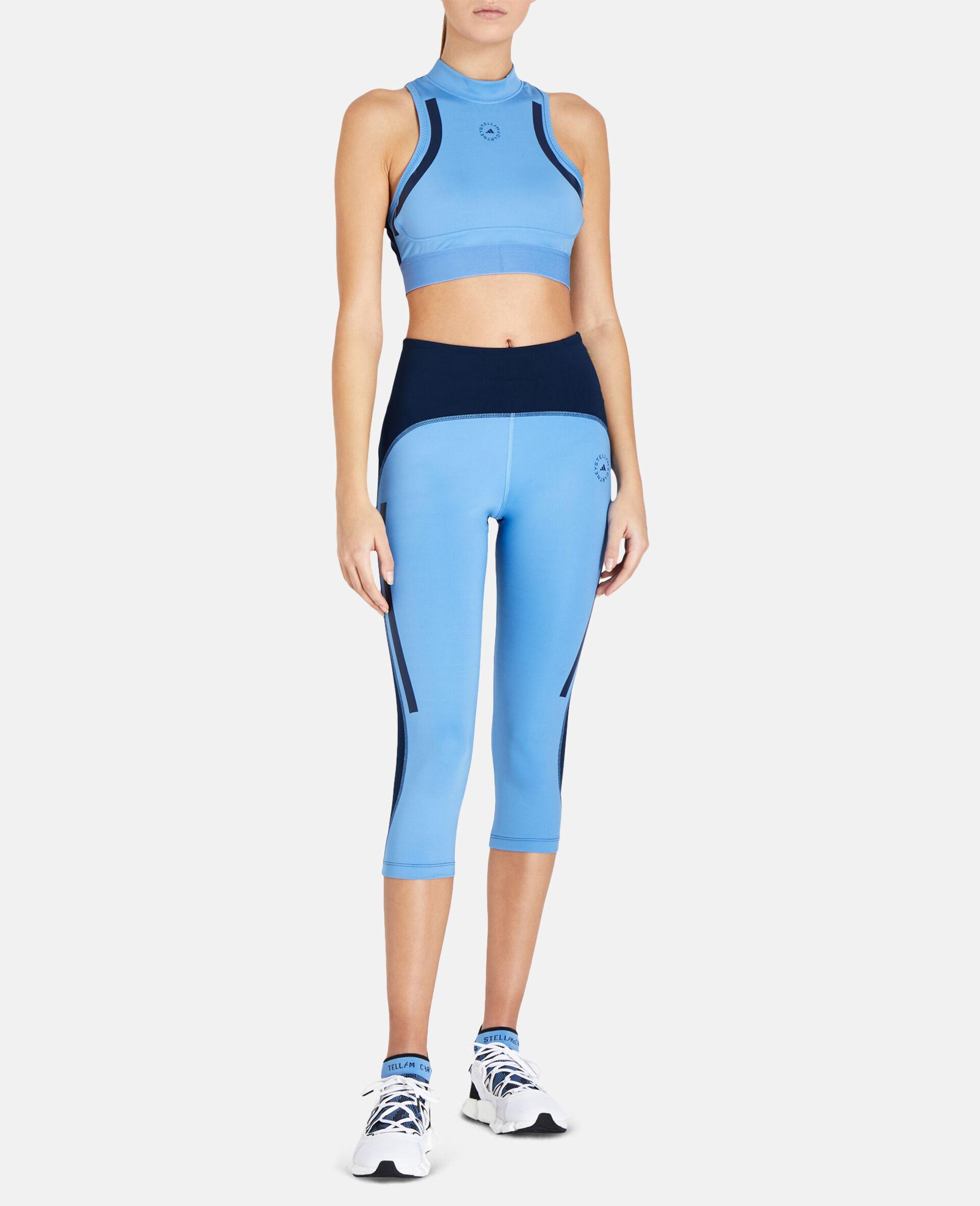 Blue TruePace Heat.rdy Crop Top-Blue-large image number 1