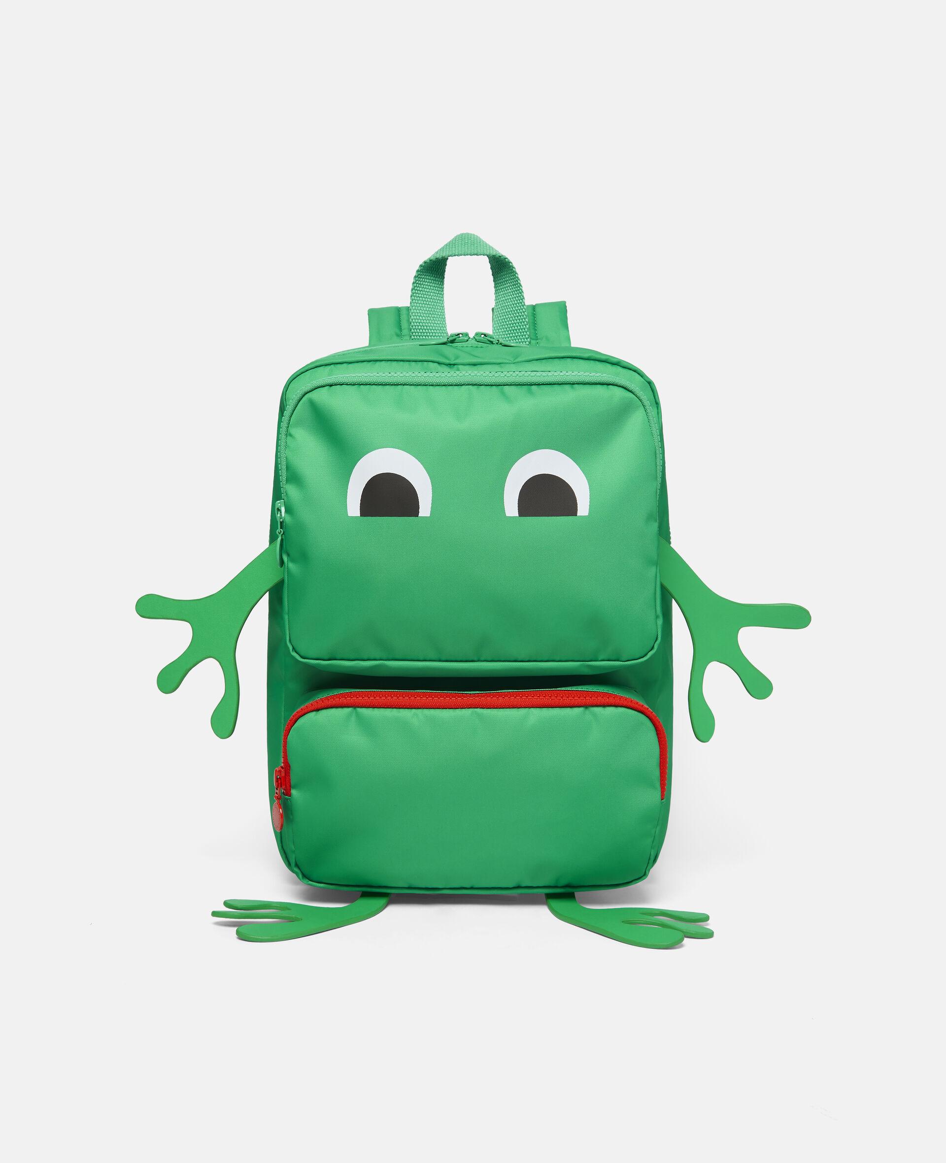 Frog Backpack-Green-large image number 0