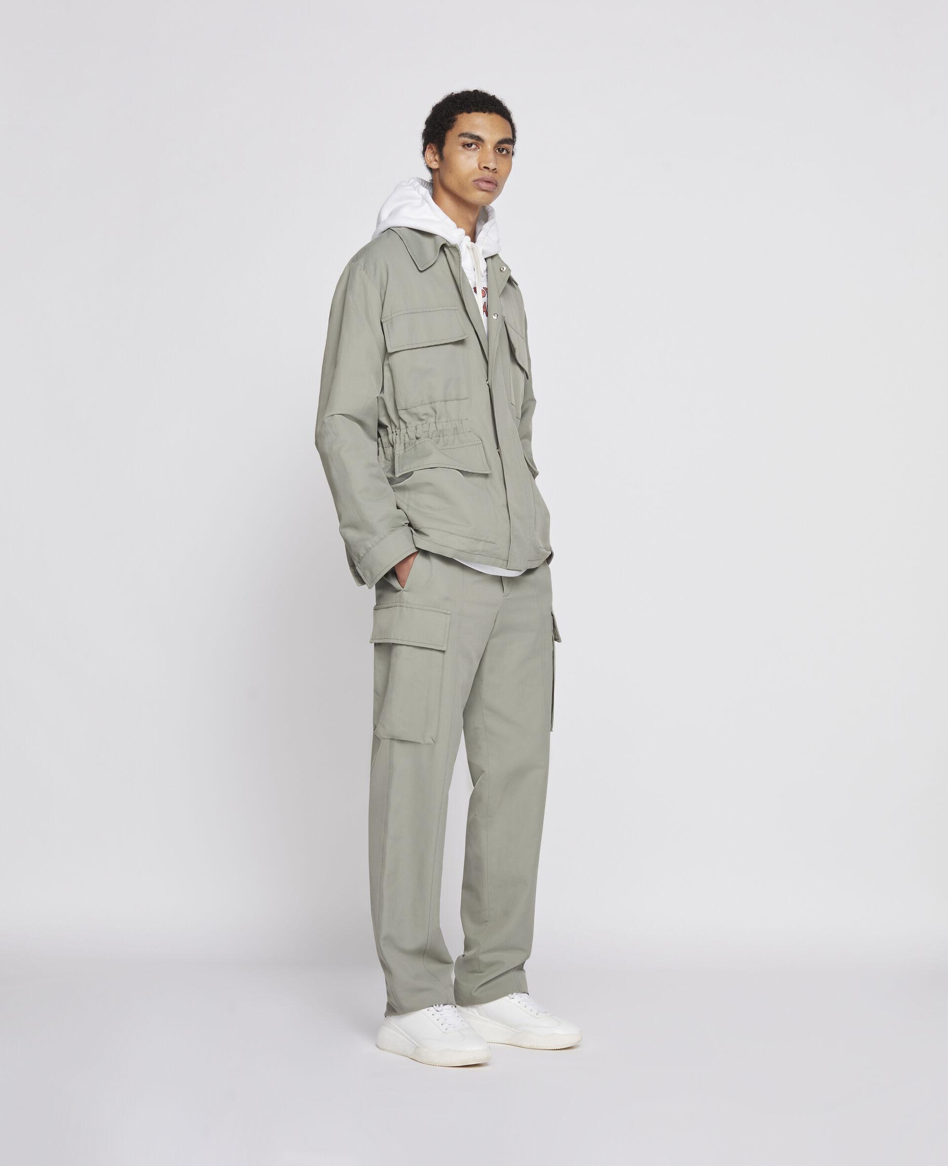 Pantalon kaki-Vert-large image number 3
