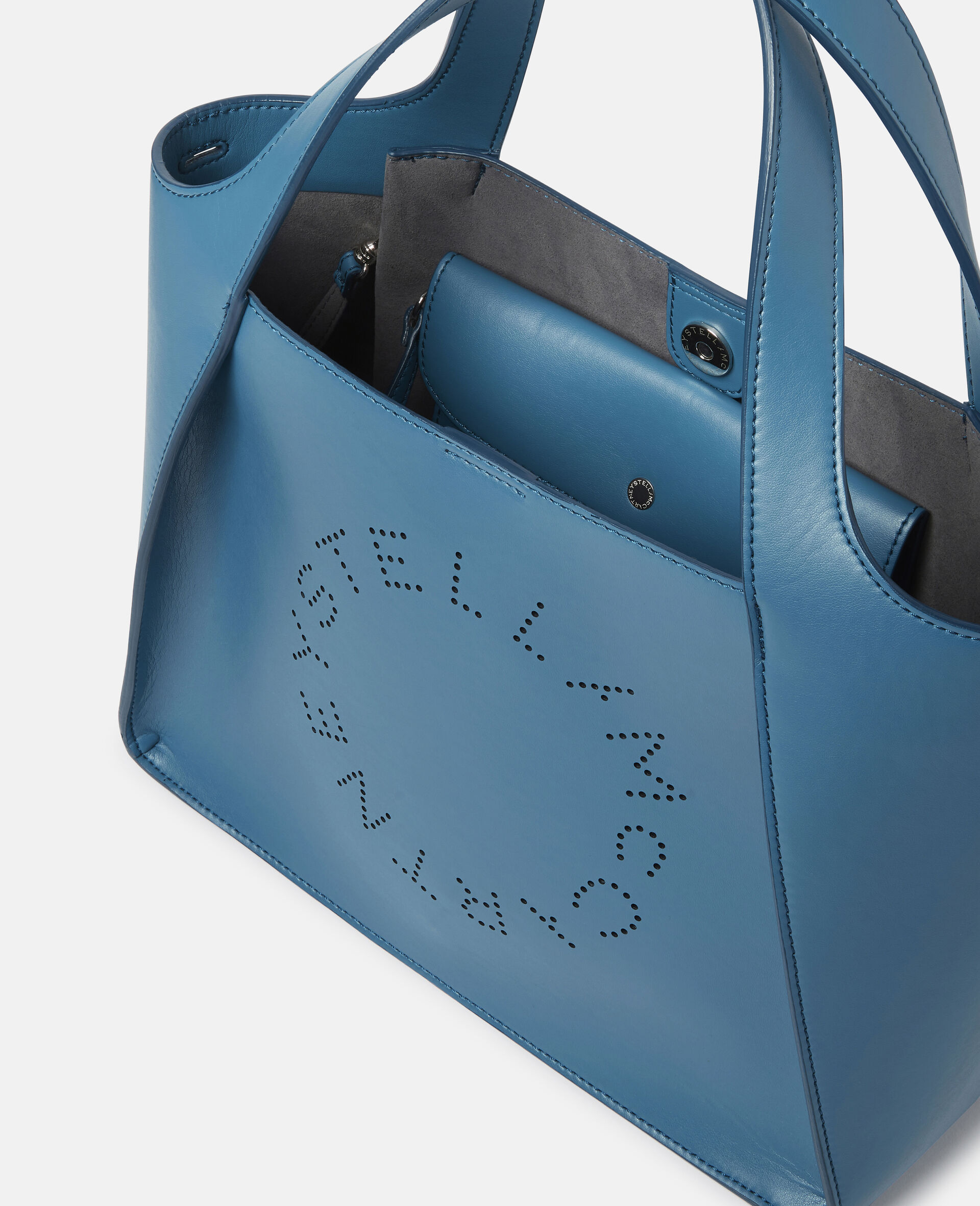 Stella Logo 斜挎包 -蓝色-large image number 3