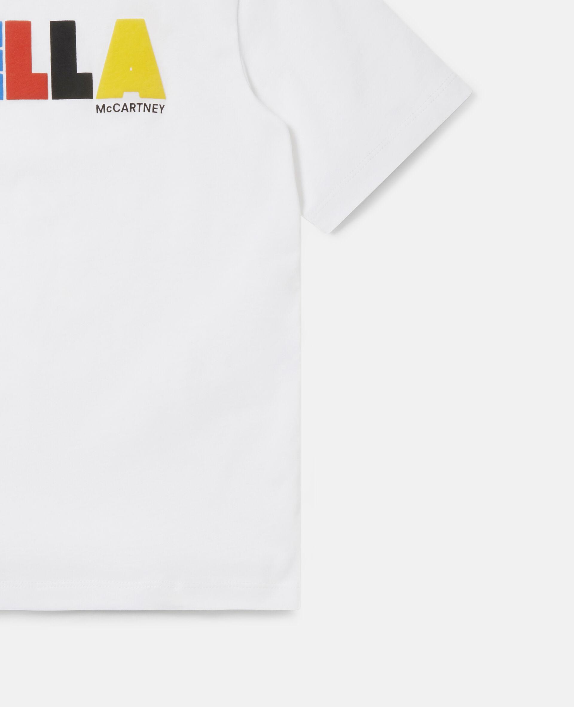 T-shirt oversize en coton Stella -Noir-large image number 1