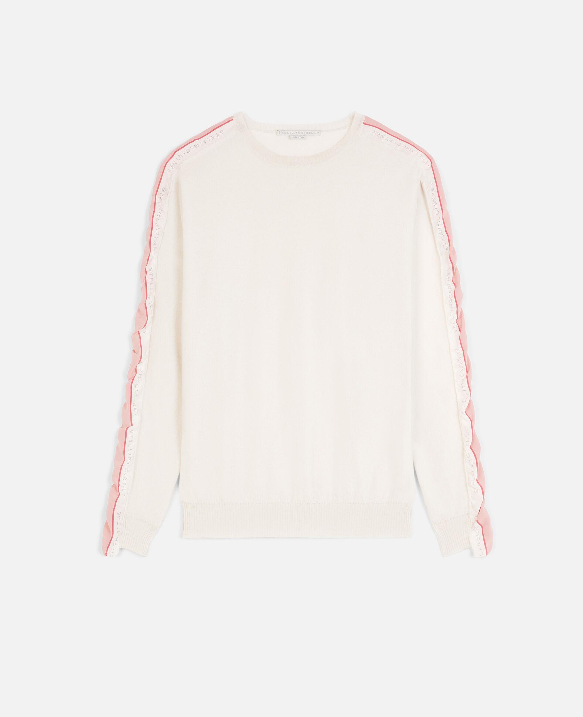 Monogram Wool Sweater-Beige-large image number 0