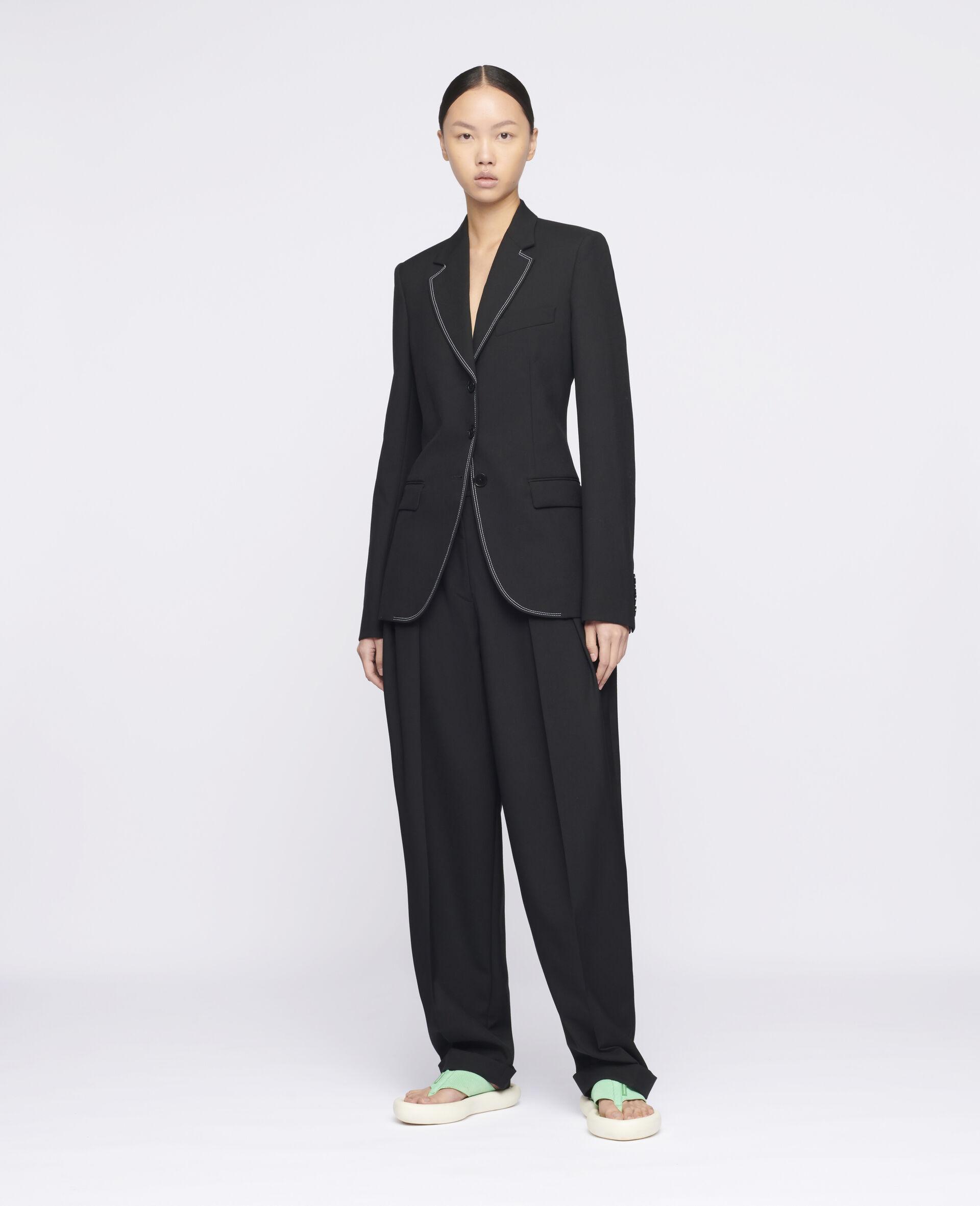 Ada Tailored Jacket -Black-large image number 1