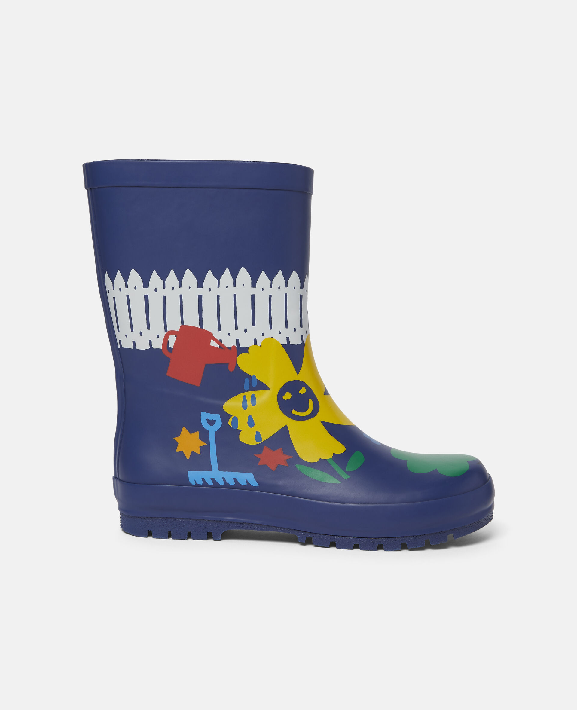 Gardening Waterproof Rainboots-Blue-large image number 0