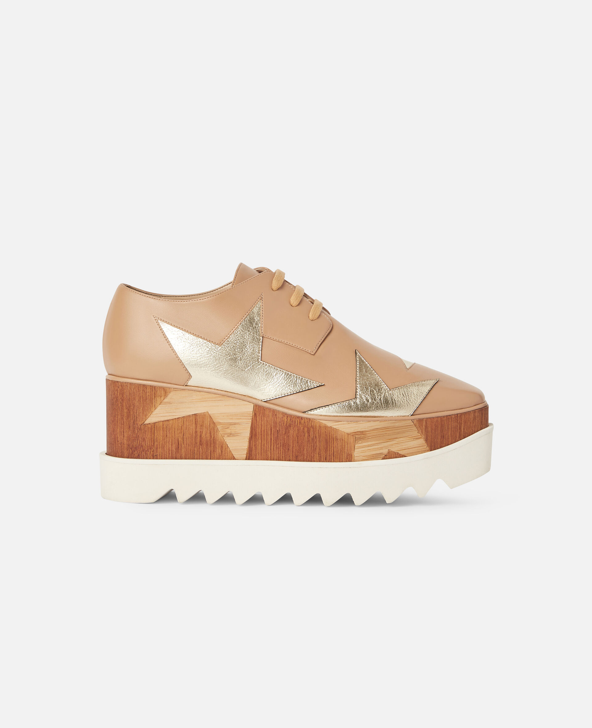 Elyse Platforms-Beige-large image number 0