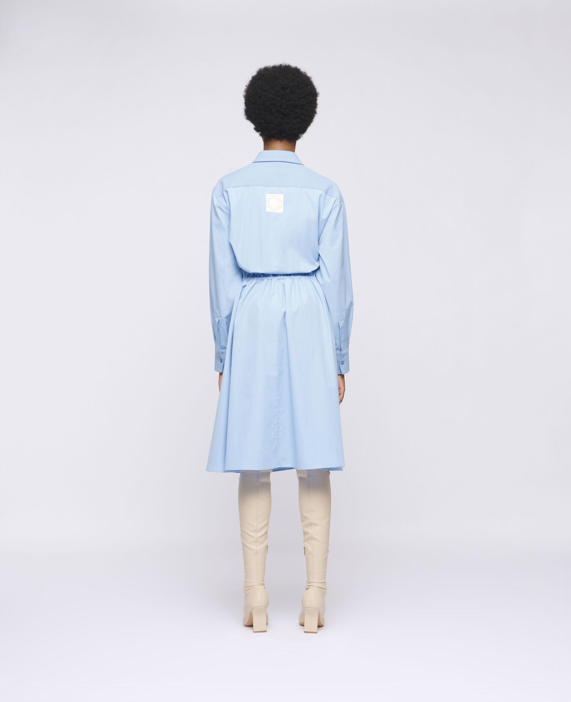 Mia 棉质连衣裙-蓝色-large image number 2