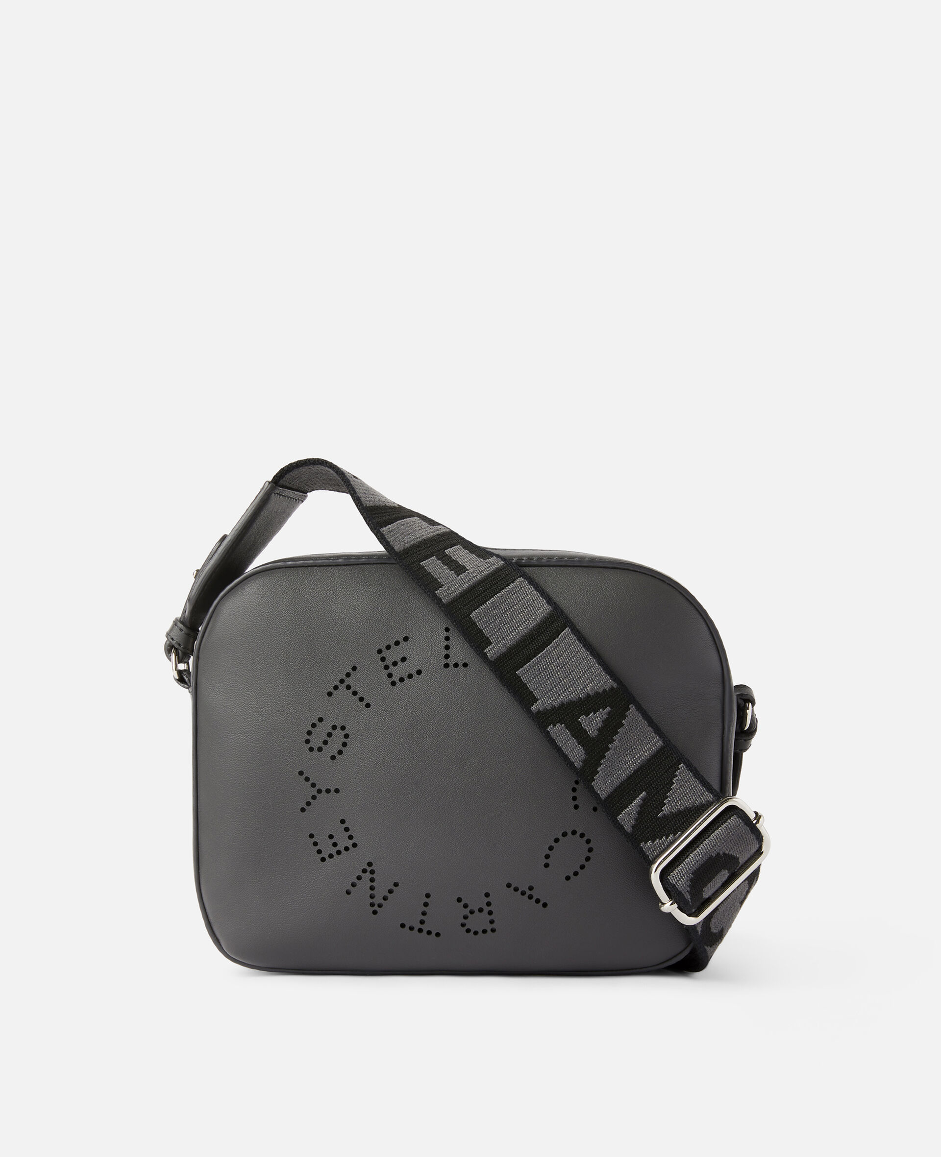 Stella Logo Mini Bag-Grey-large image number 0