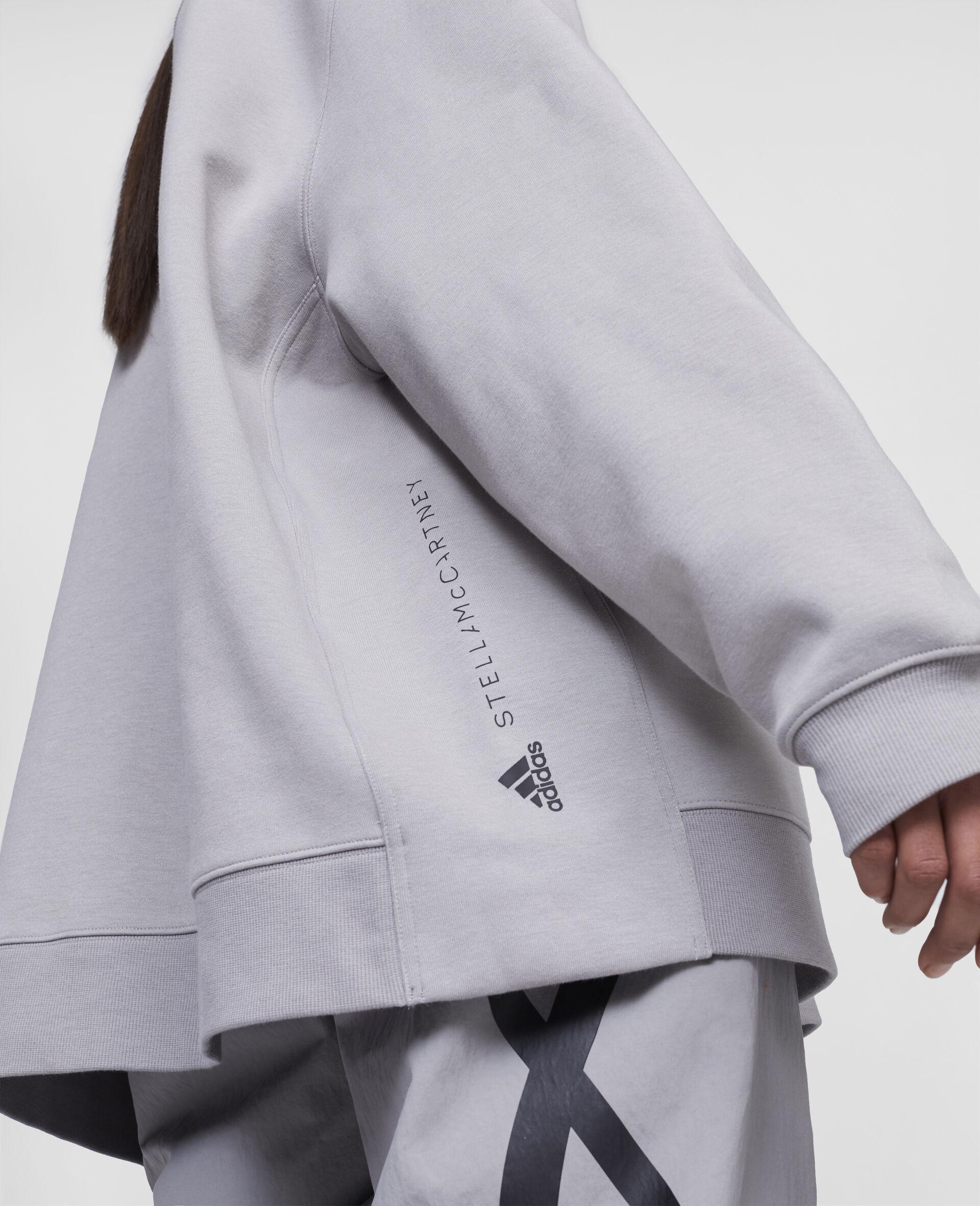 Graues Trainings-Sweatshirt-Grau-large image number 3