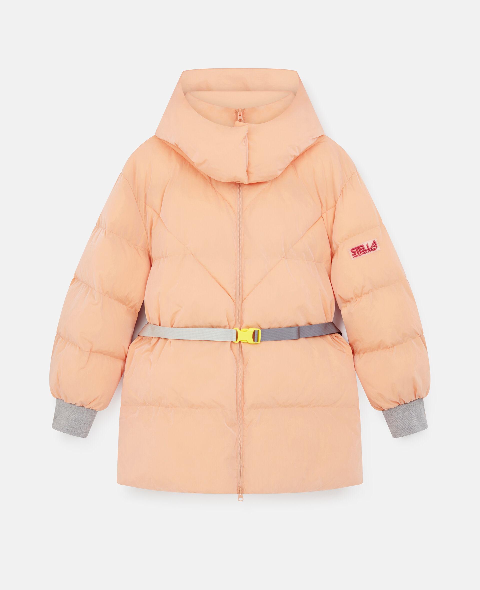 Kayla Quilted Puffer Jacket-Orange-large image number 0