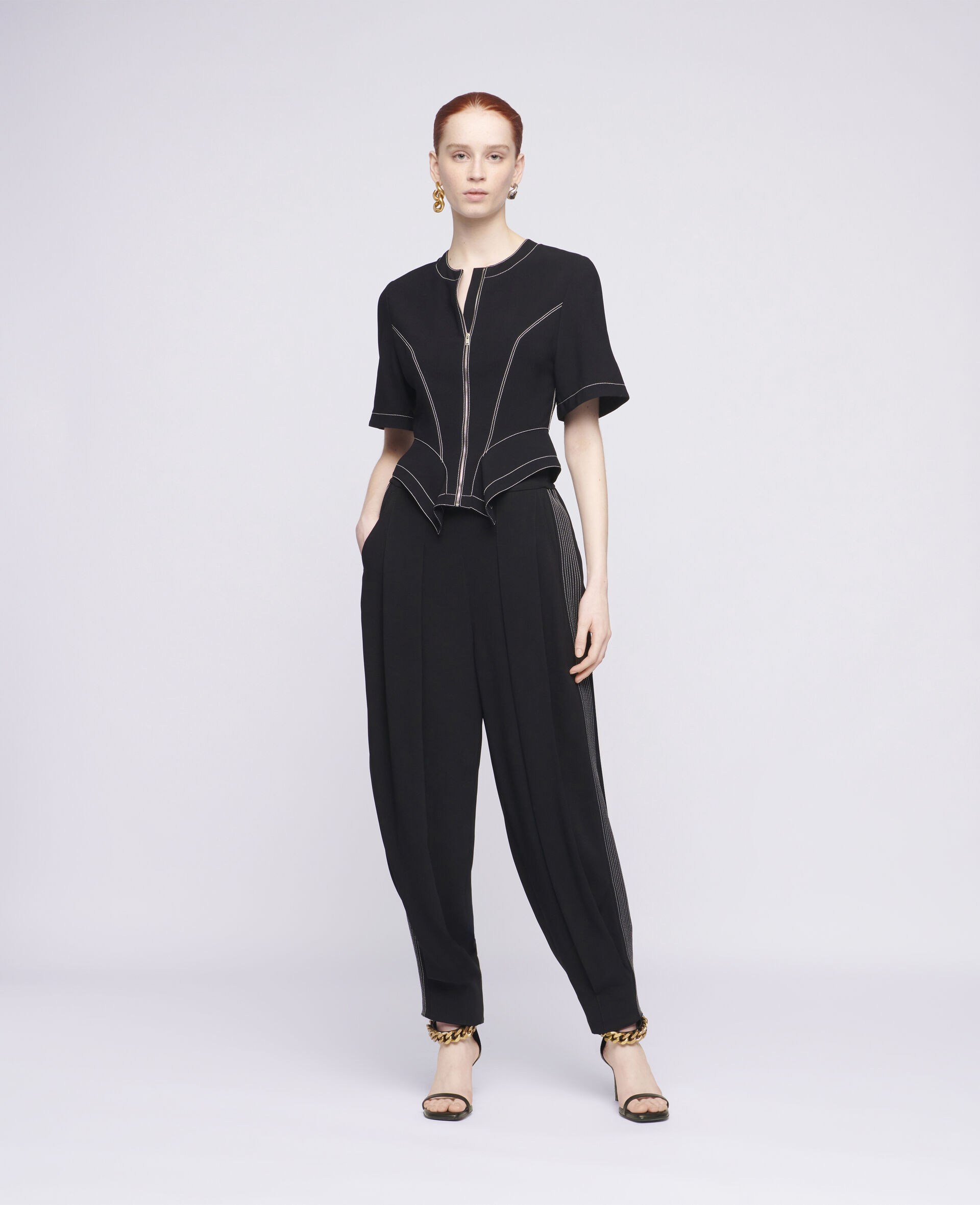 Christelle Trousers-Black-large image number 1
