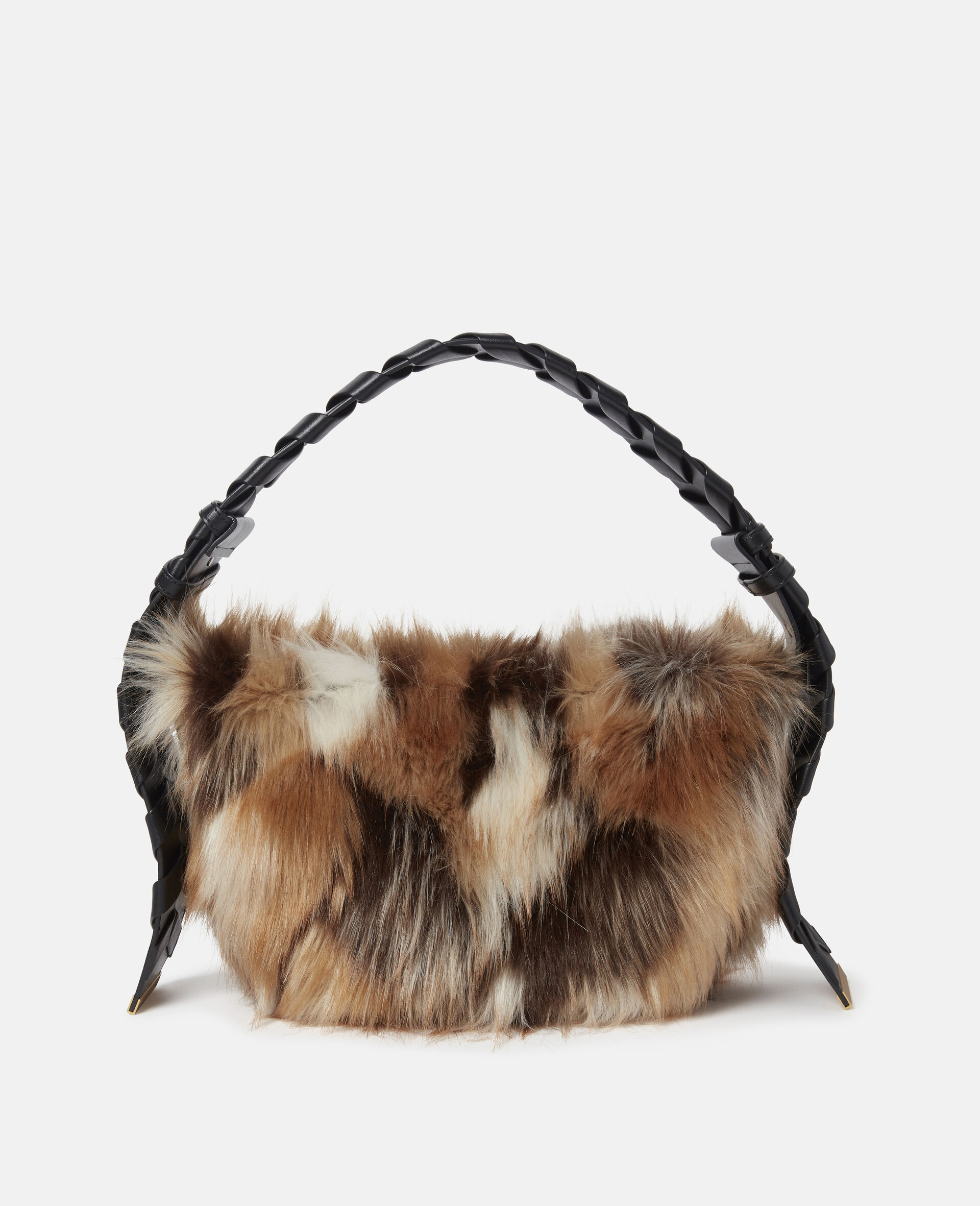 Small Hobo FFF Shoulder Bag-Multicolour-large image number 0