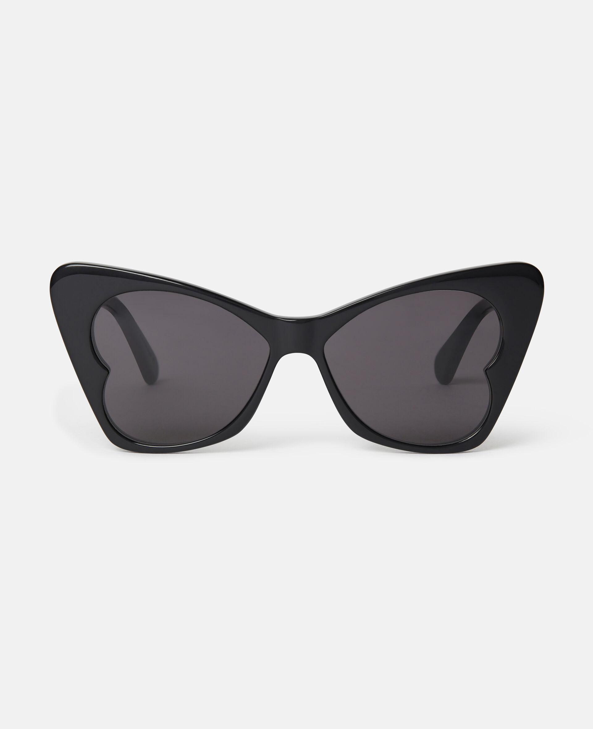 Butterfly Sunglasses-Black-large image number 0