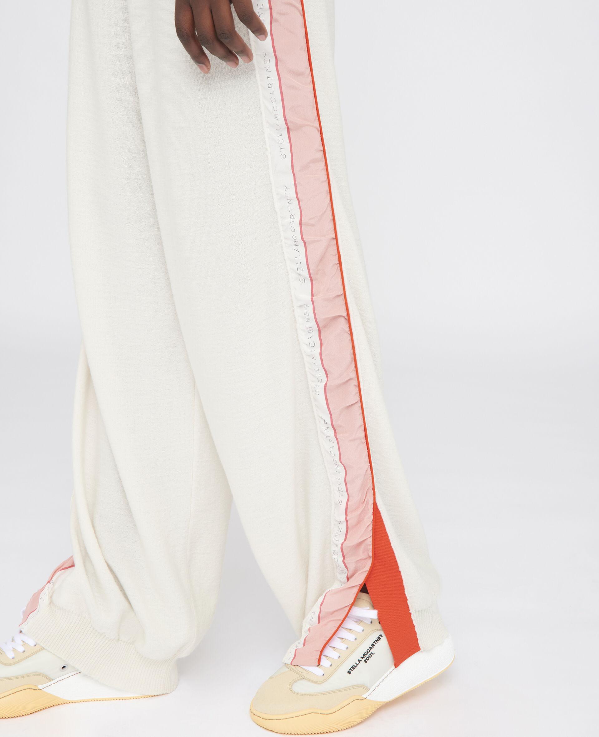 Monogram Wool Trousers-Beige-large image number 3