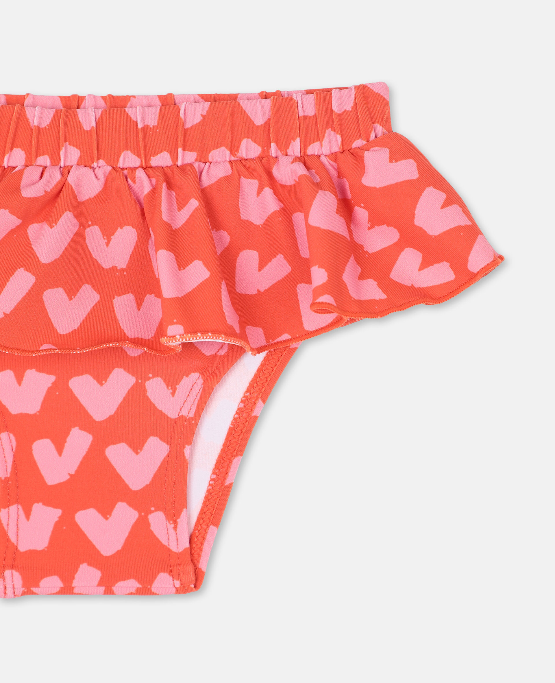 Hearts Red Swim Bottom -Red-large image number 1