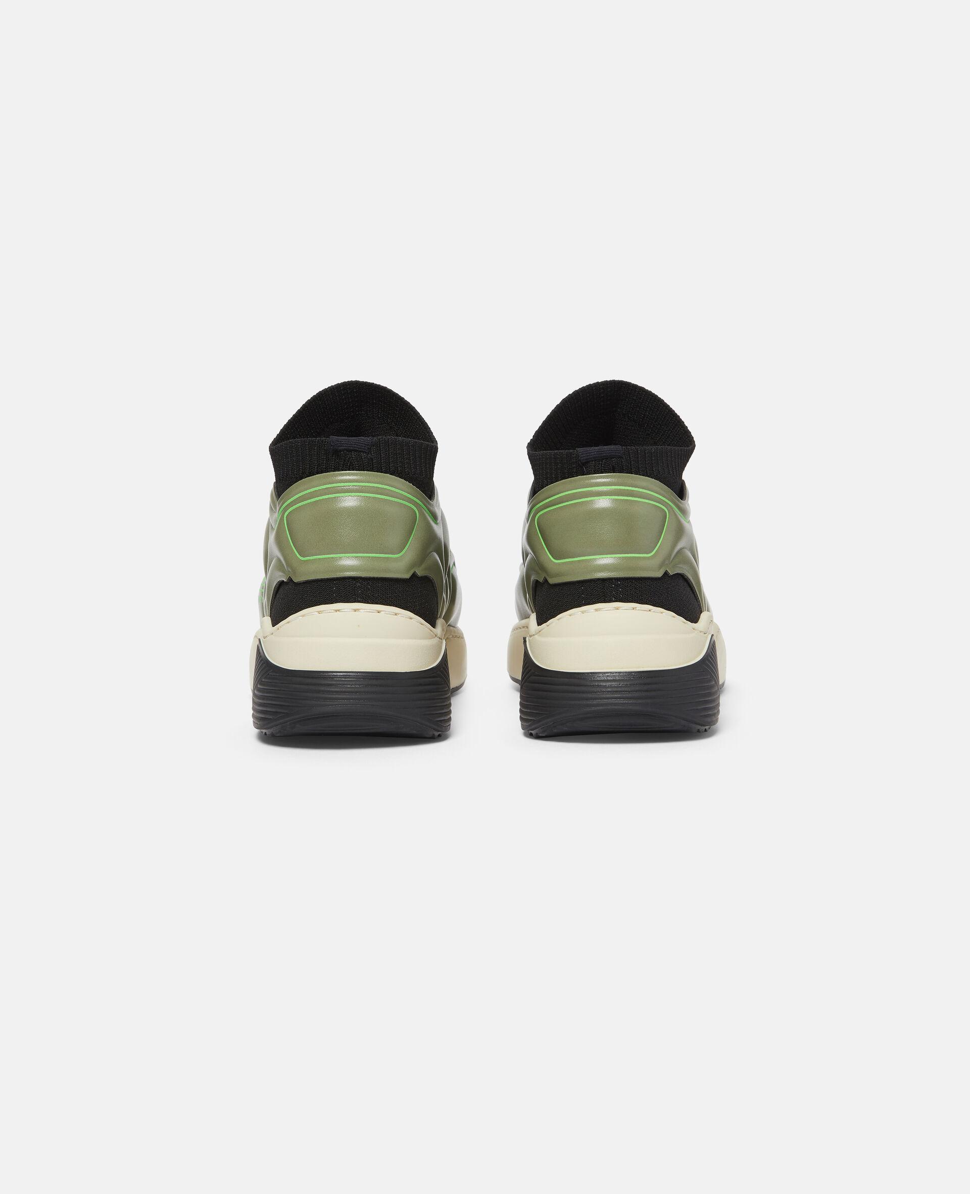 Baskets de sport à chaussettes en maille-Noir-large image number 2