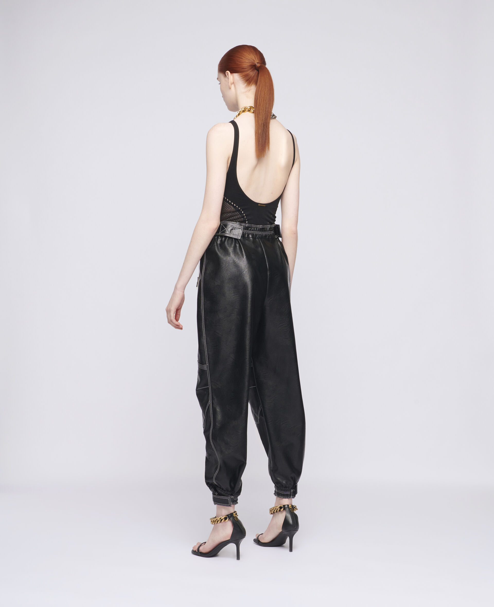 Lacey Trousers-Black-large image number 2