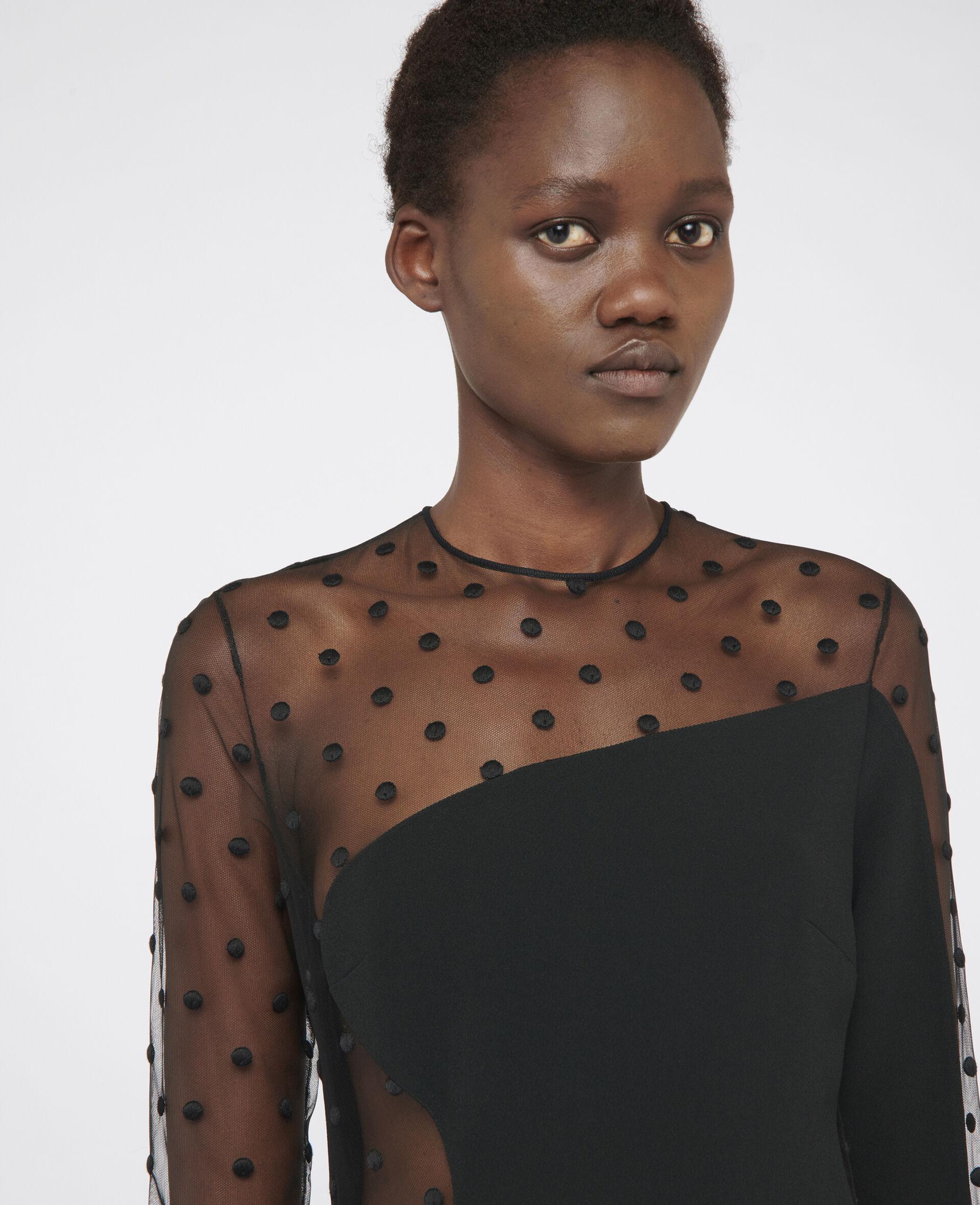 Robe de soirée Arielle-Noir-large image number 3