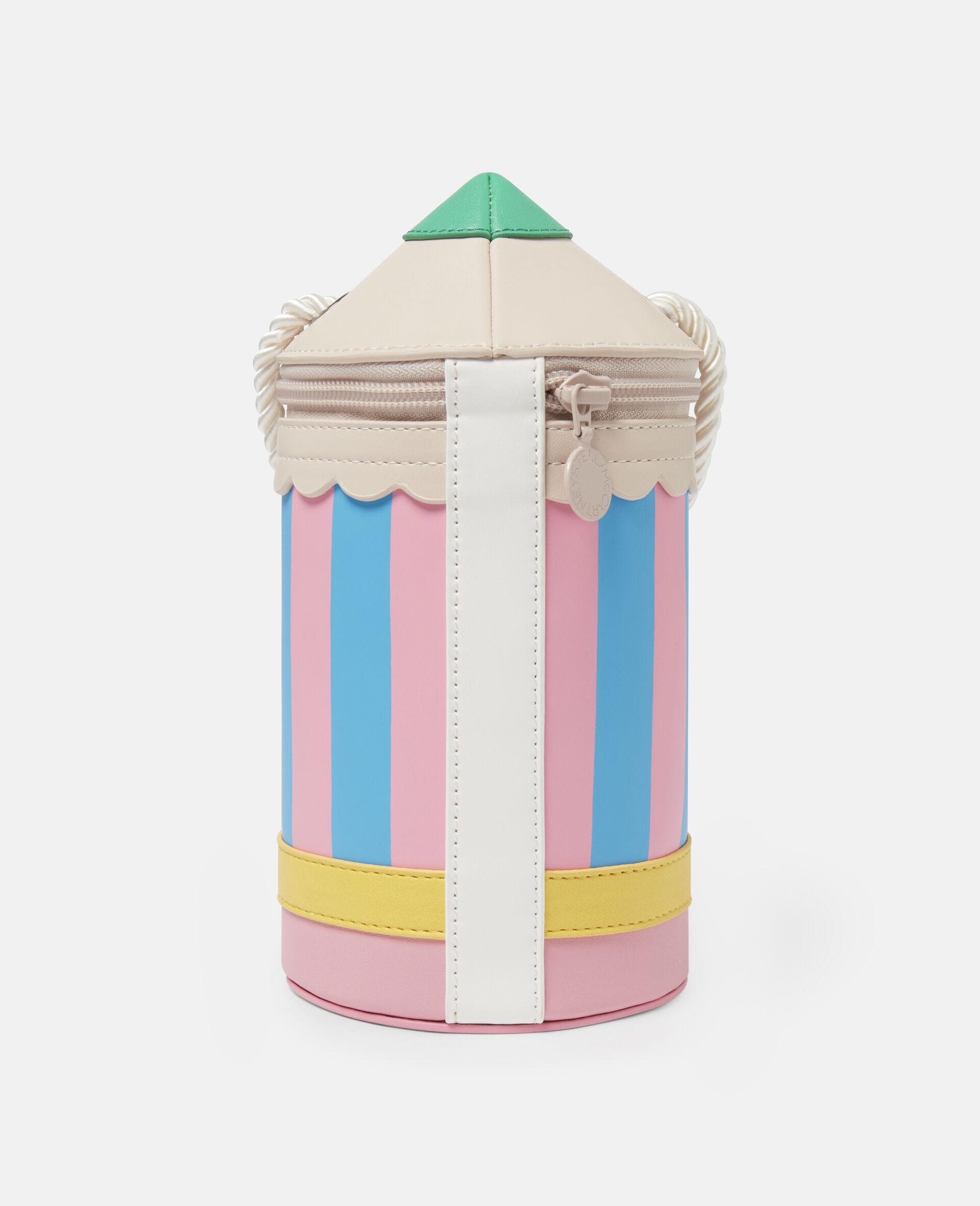 Pencil Alter Mat Shoulder Bag-Multicolour-large image number 3