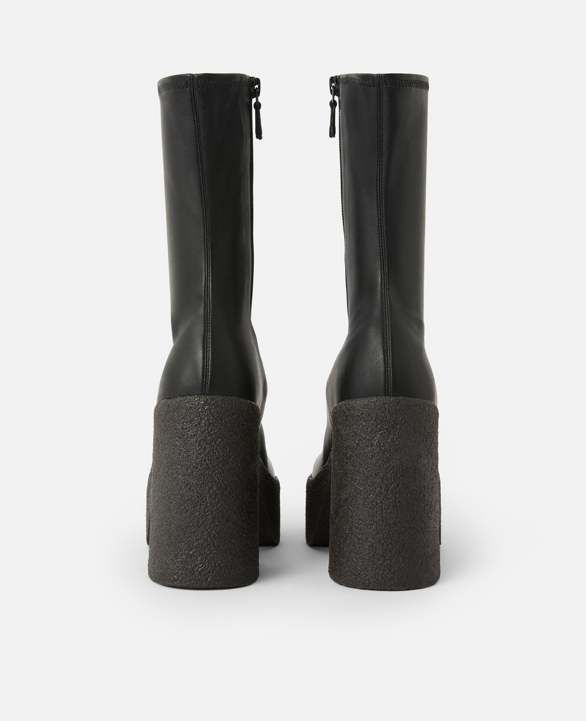 Chunky Ankle Boots -Black-large image number 2