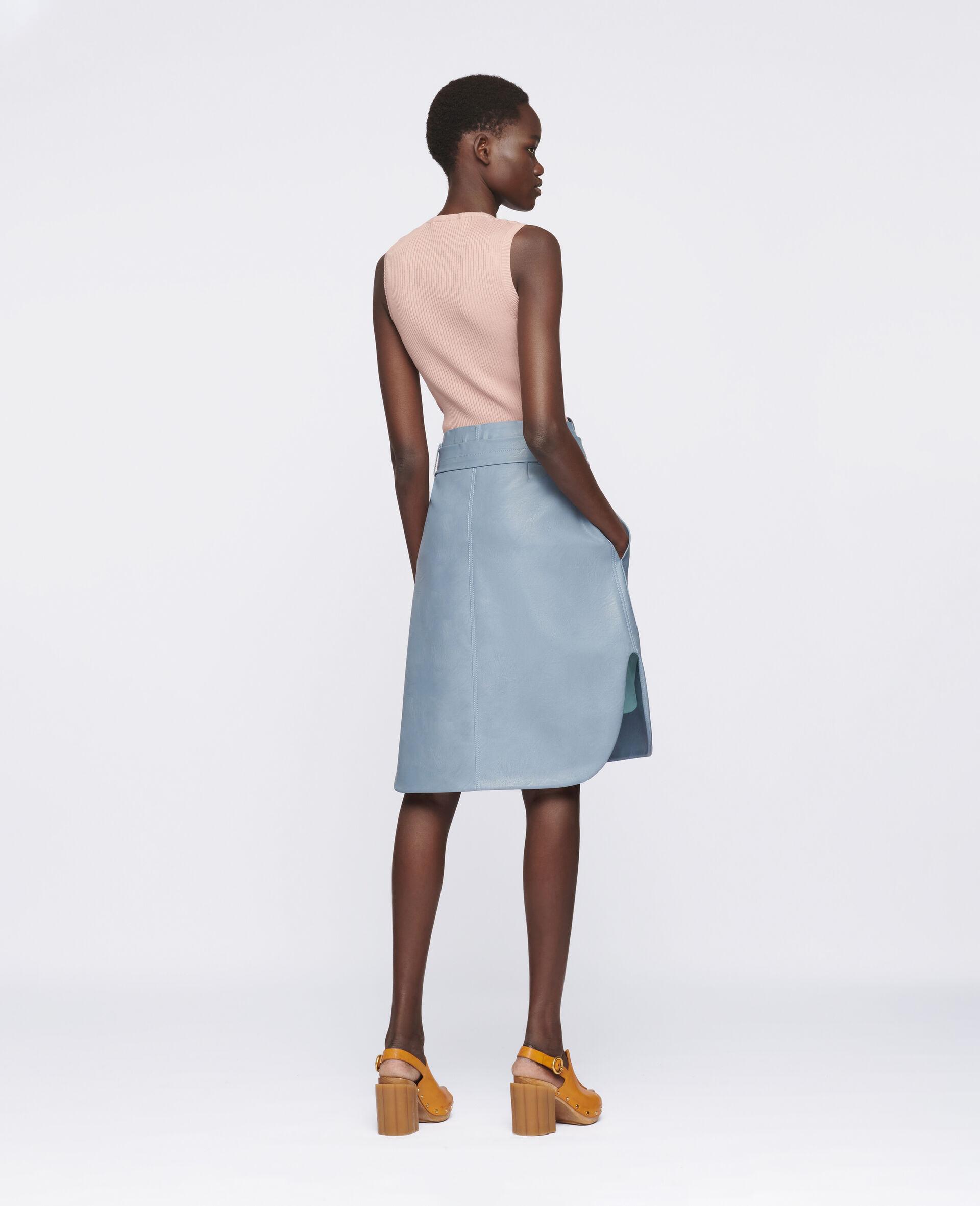 Ivy Midi Skirt -Blue-large image number 2