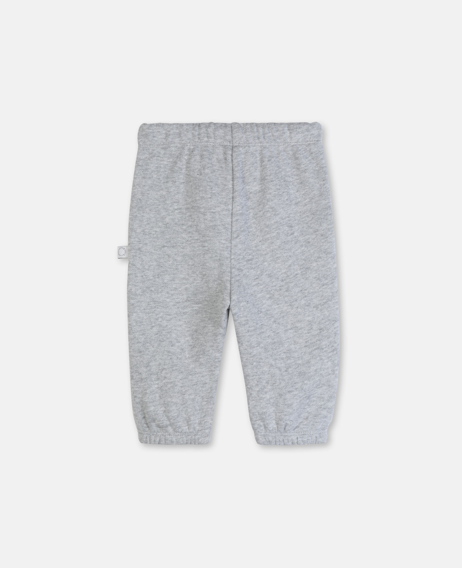 Funny Tiger Cotton Joggers-Grey-large image number 3