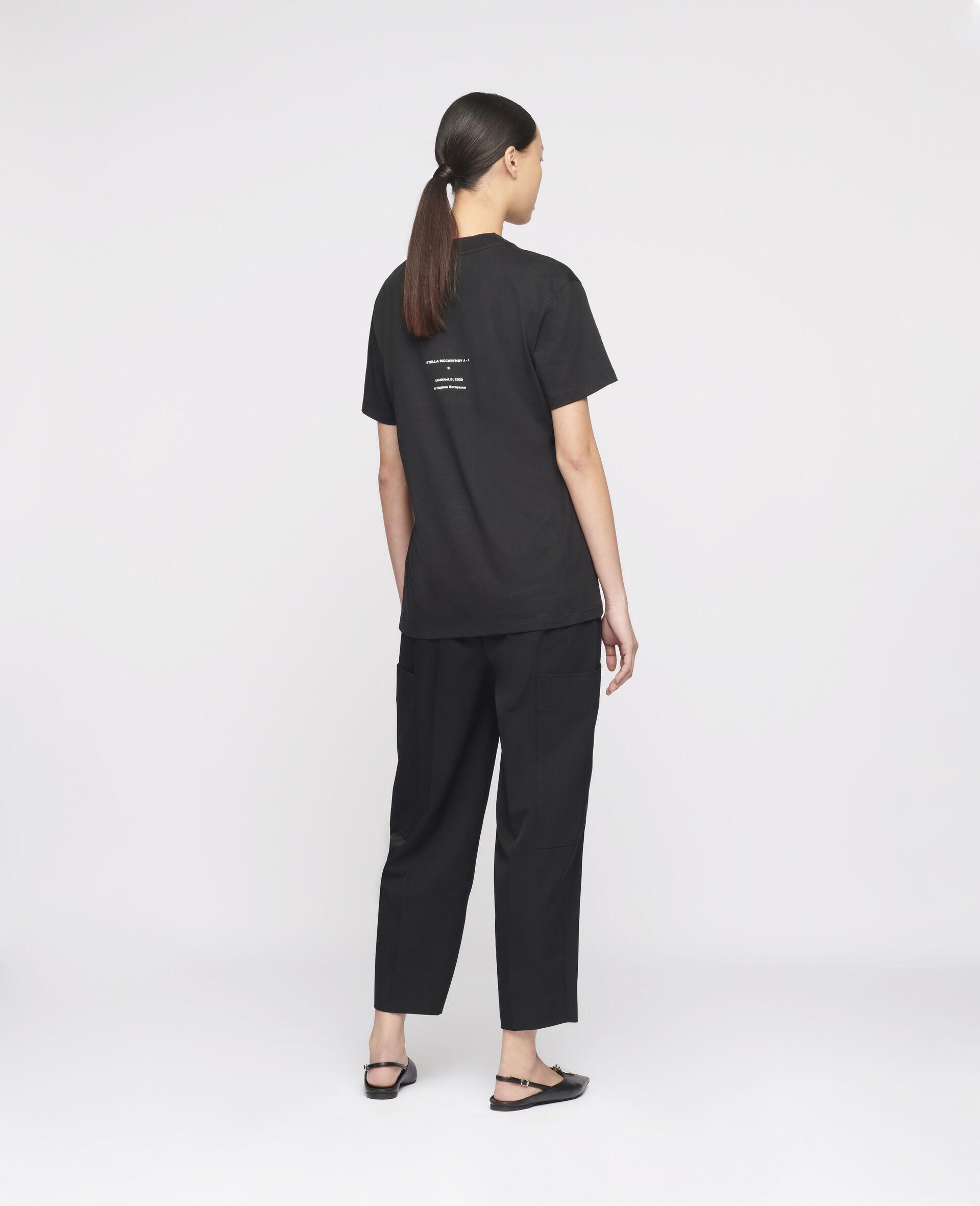 """Hajime Sorayama """"S"""" T-shirt-Black-large image number 2"""