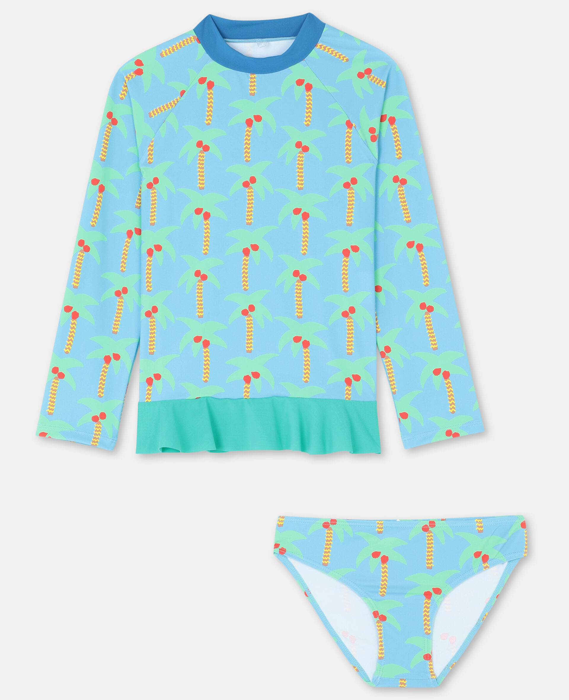 Palm Tree Swim Set -Green-large image number 0