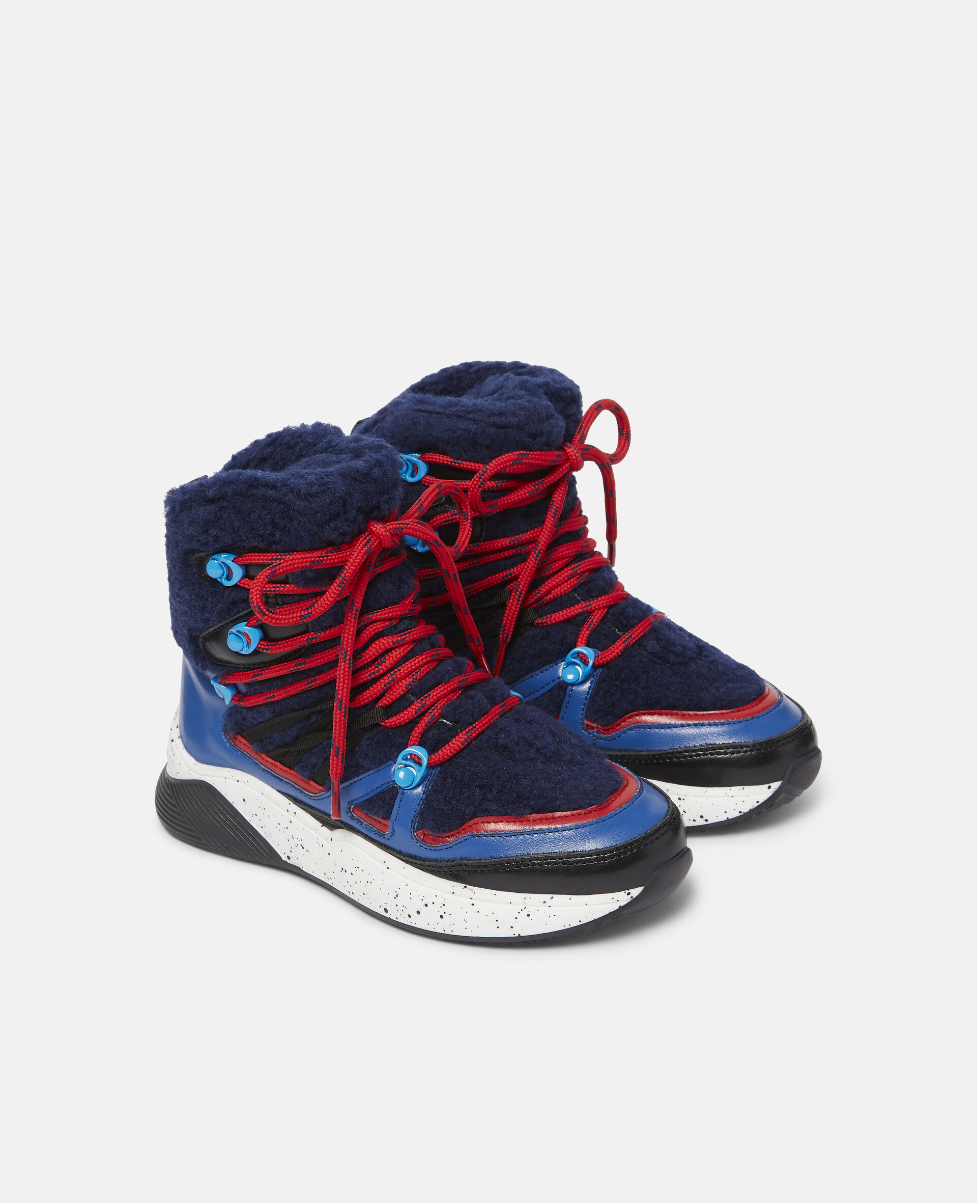 Colourblock Hiking Boots-Blue-large image number 3
