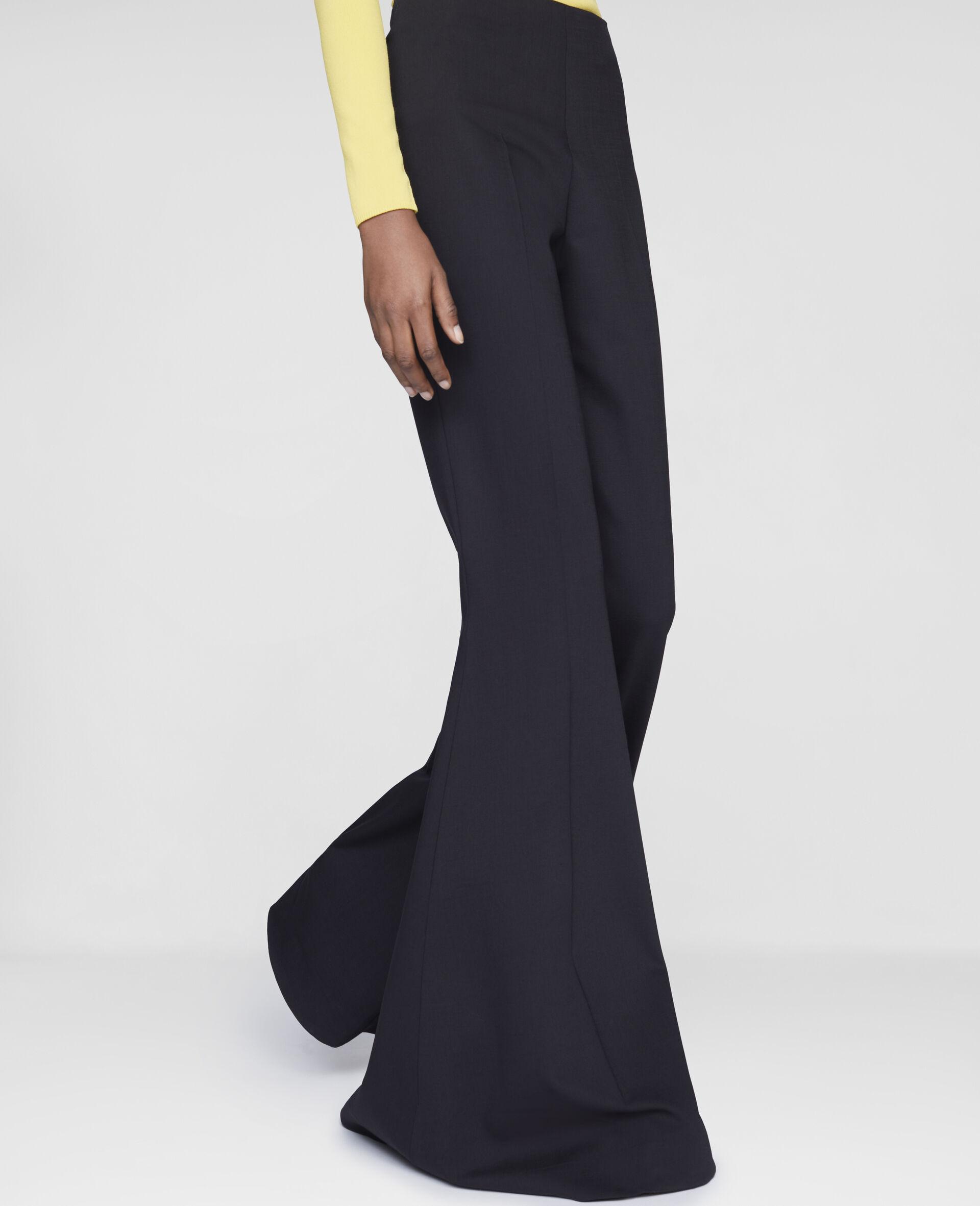 Mona Flared Trousers-Black-large image number 3