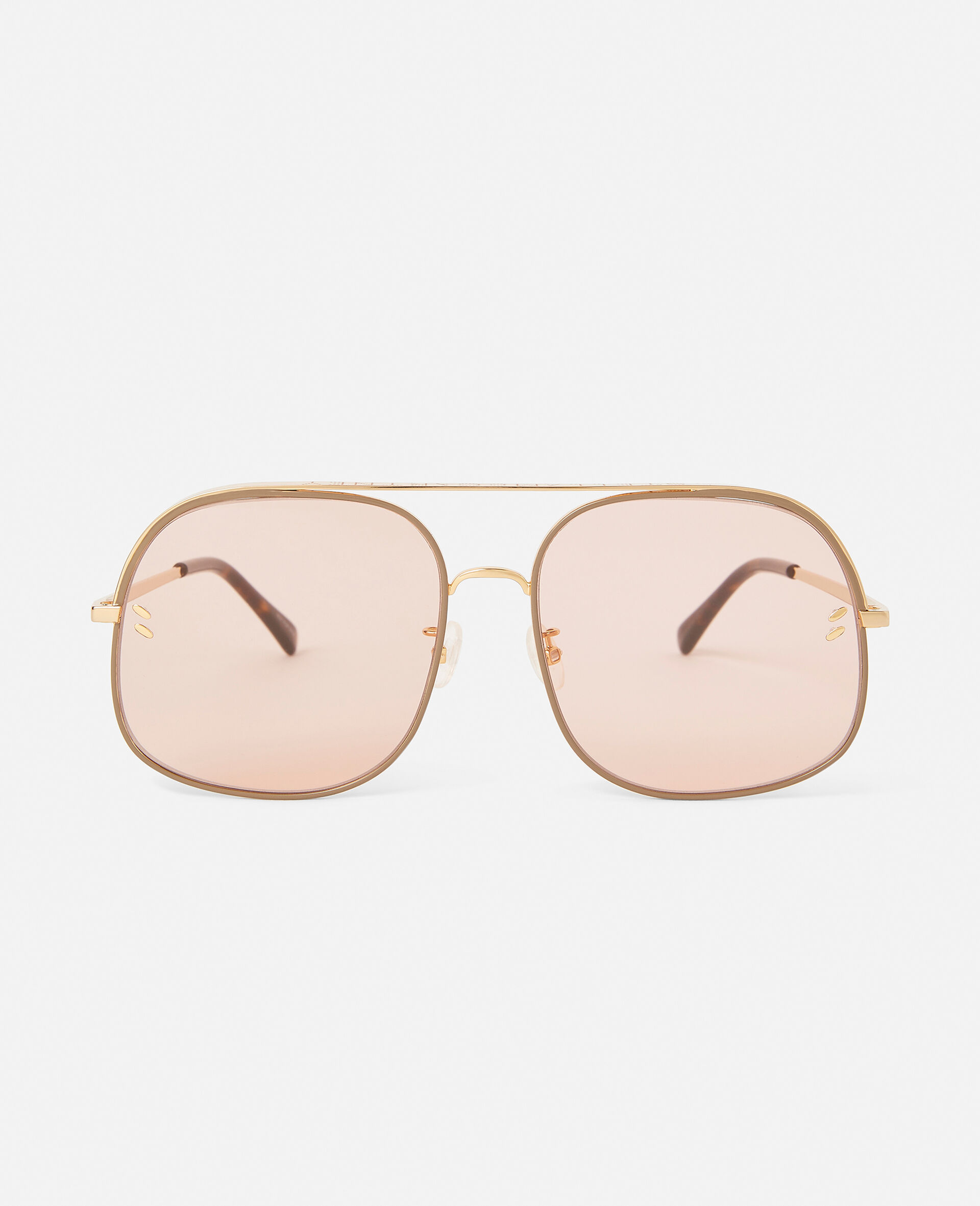 Square Sunglasses-Pink-large image number 0