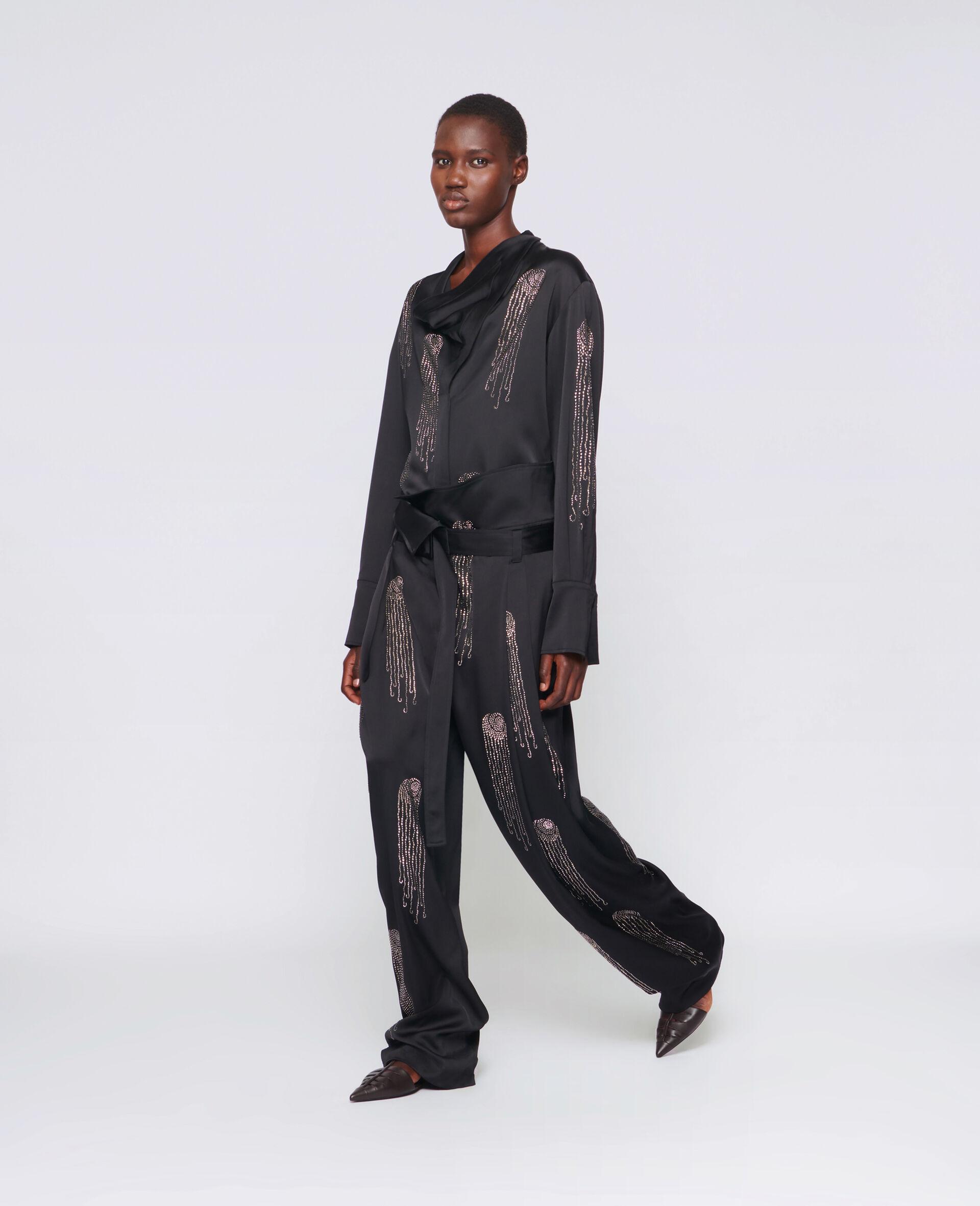 Ambella Hotfix Shirt-Black-large image number 1