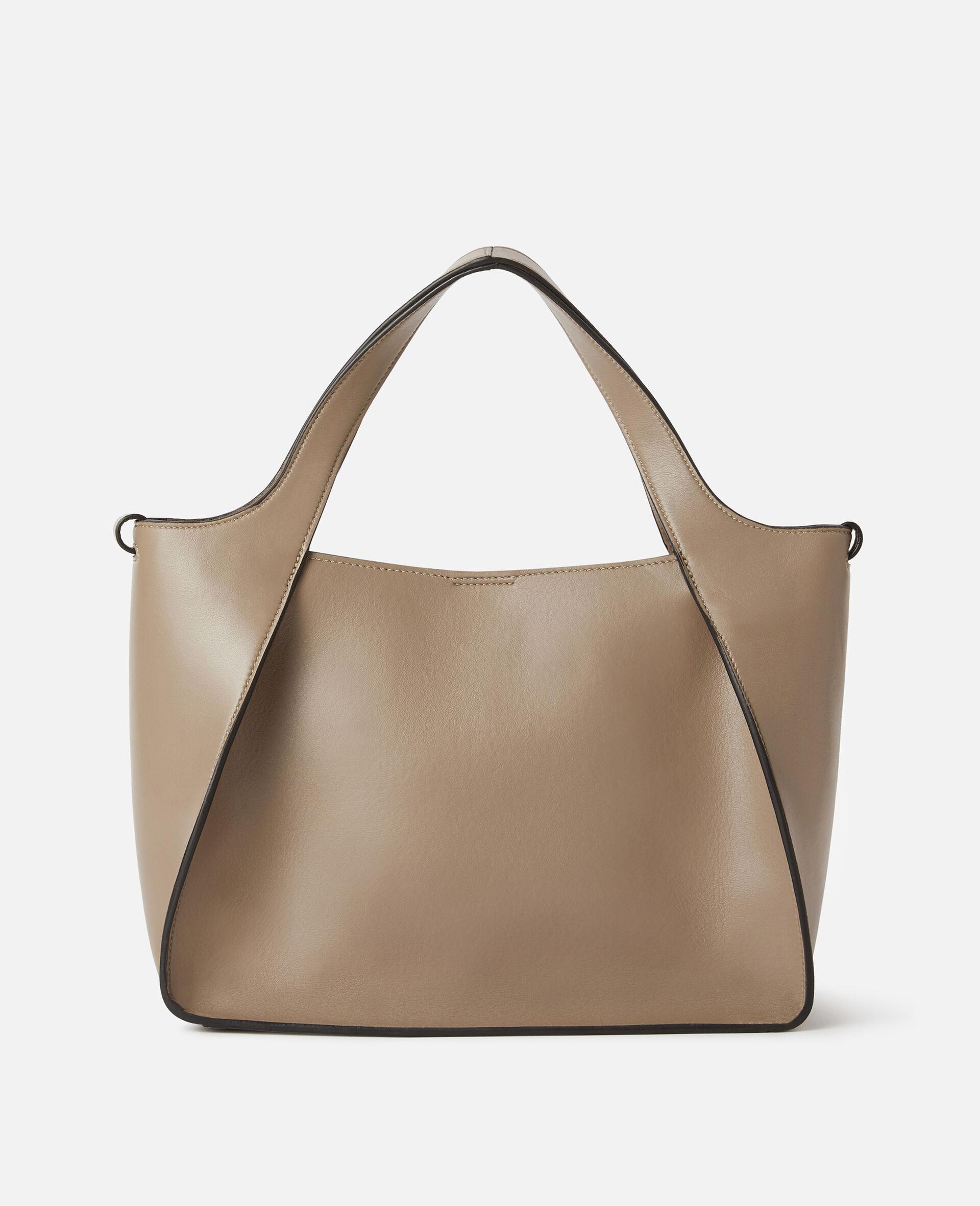 Stella Logo Crossbody Bag -Beige-large image number 2