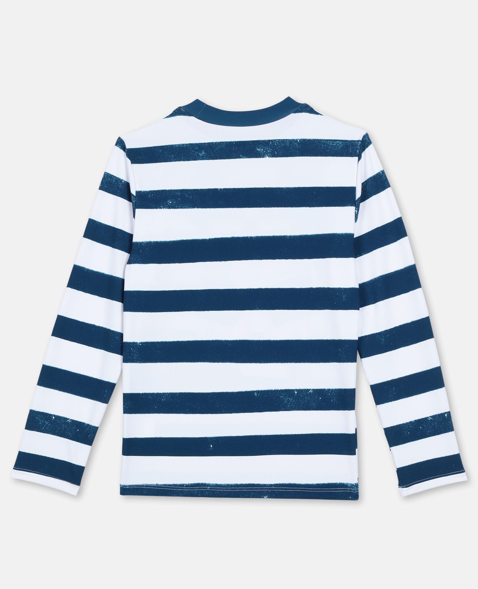 Trompe-L'Oeil Pirate Swim T-shirt -Multicolour-large image number 4