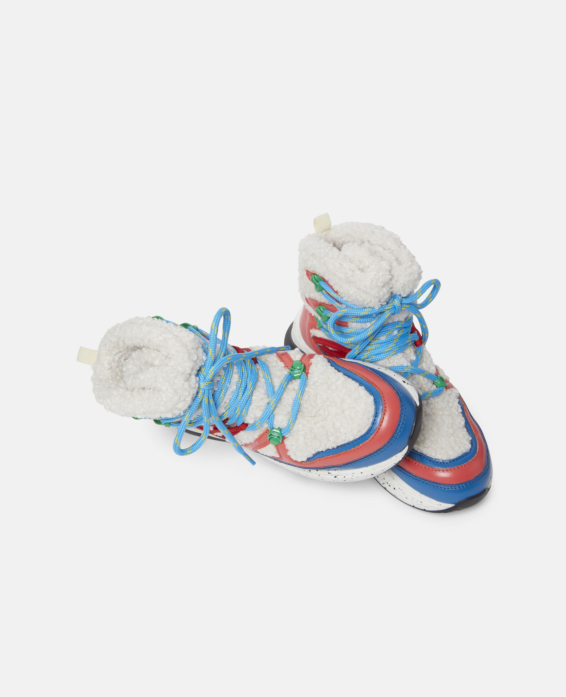 Colourblock Hiking Boots-White-large image number 1
