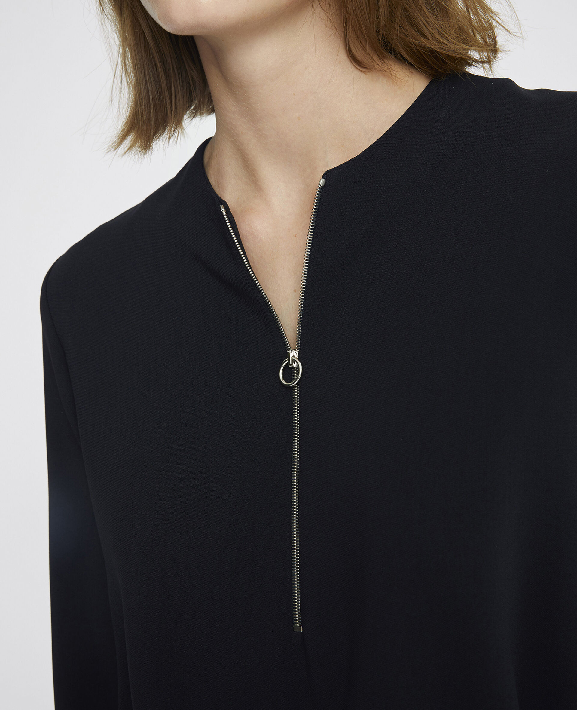 Arlesa Top-Black-large image number 3