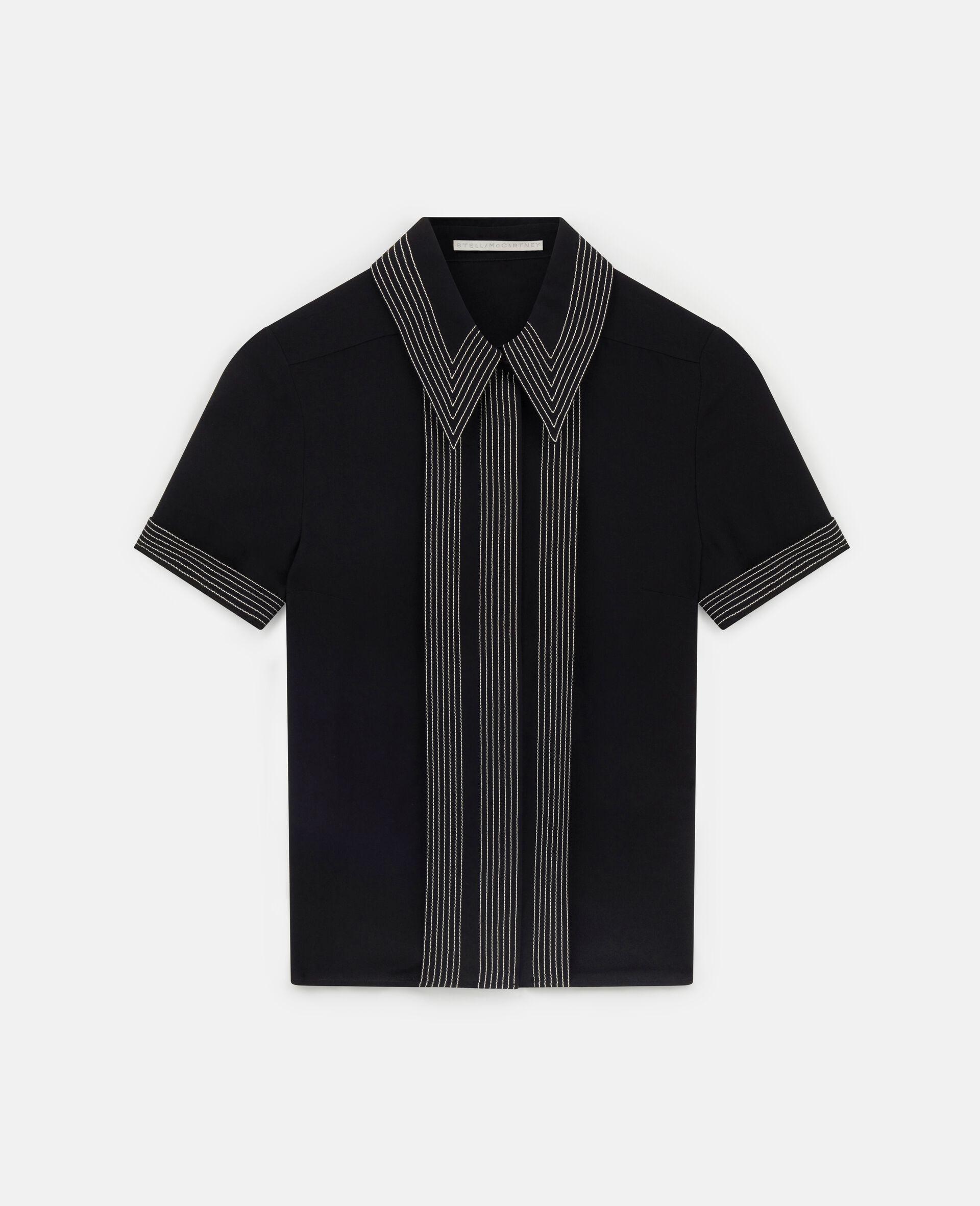 Rosa 衬衫-黑色-large image number 0