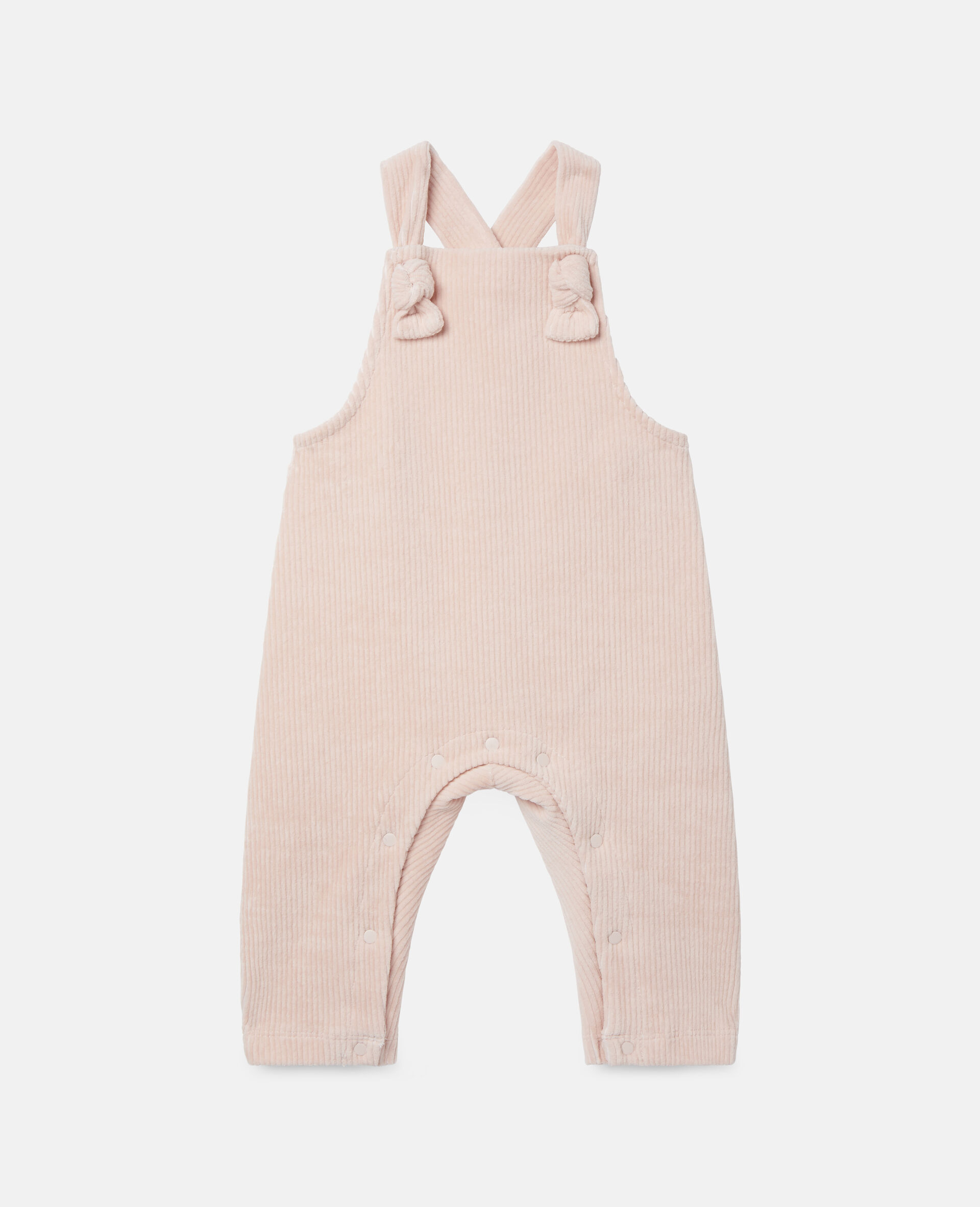 Corduroy Baby Jumpsuit-Pink-large image number 0