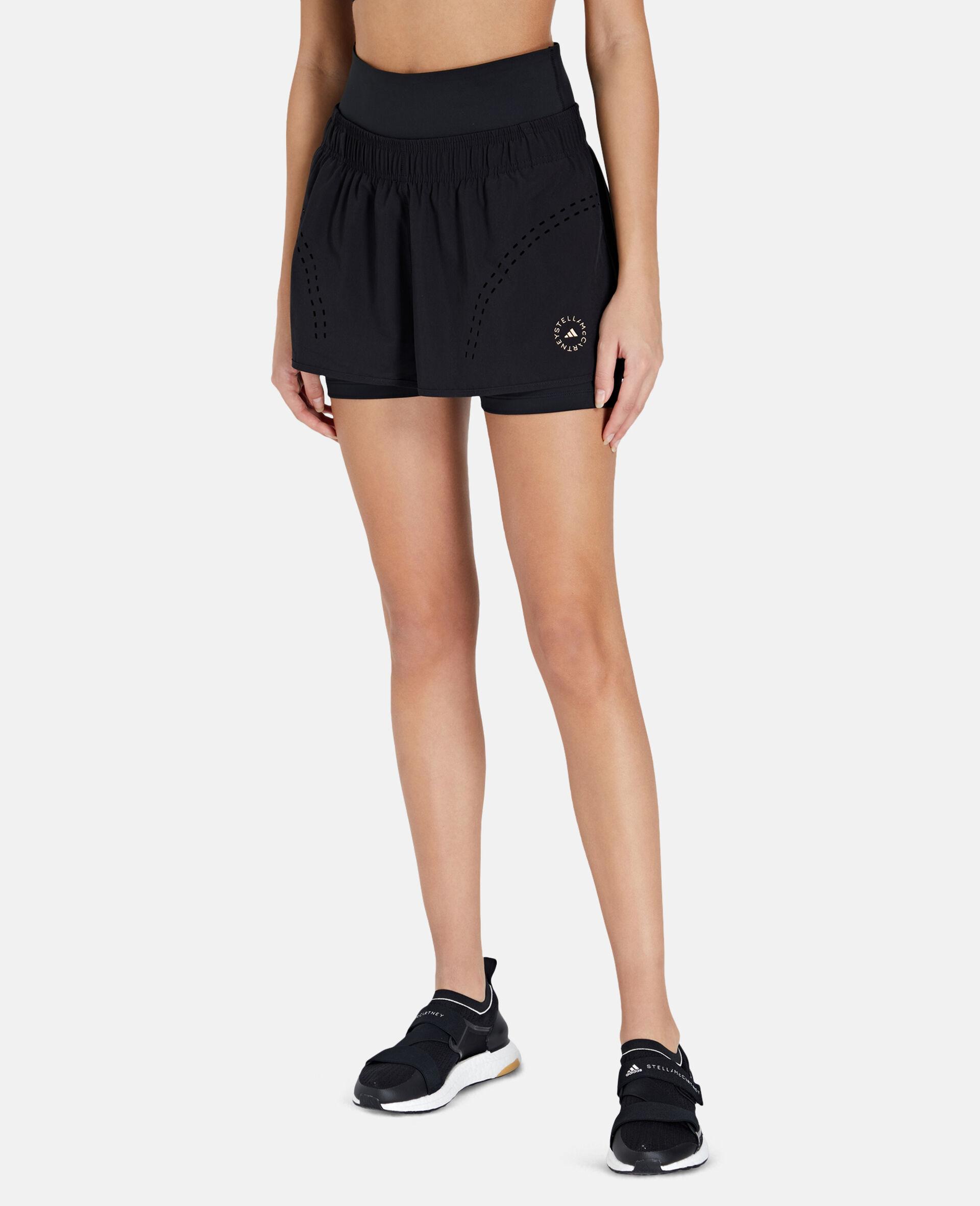 Schwarze TruePurpose Sport-Shorts-Schwarz-large image number 6