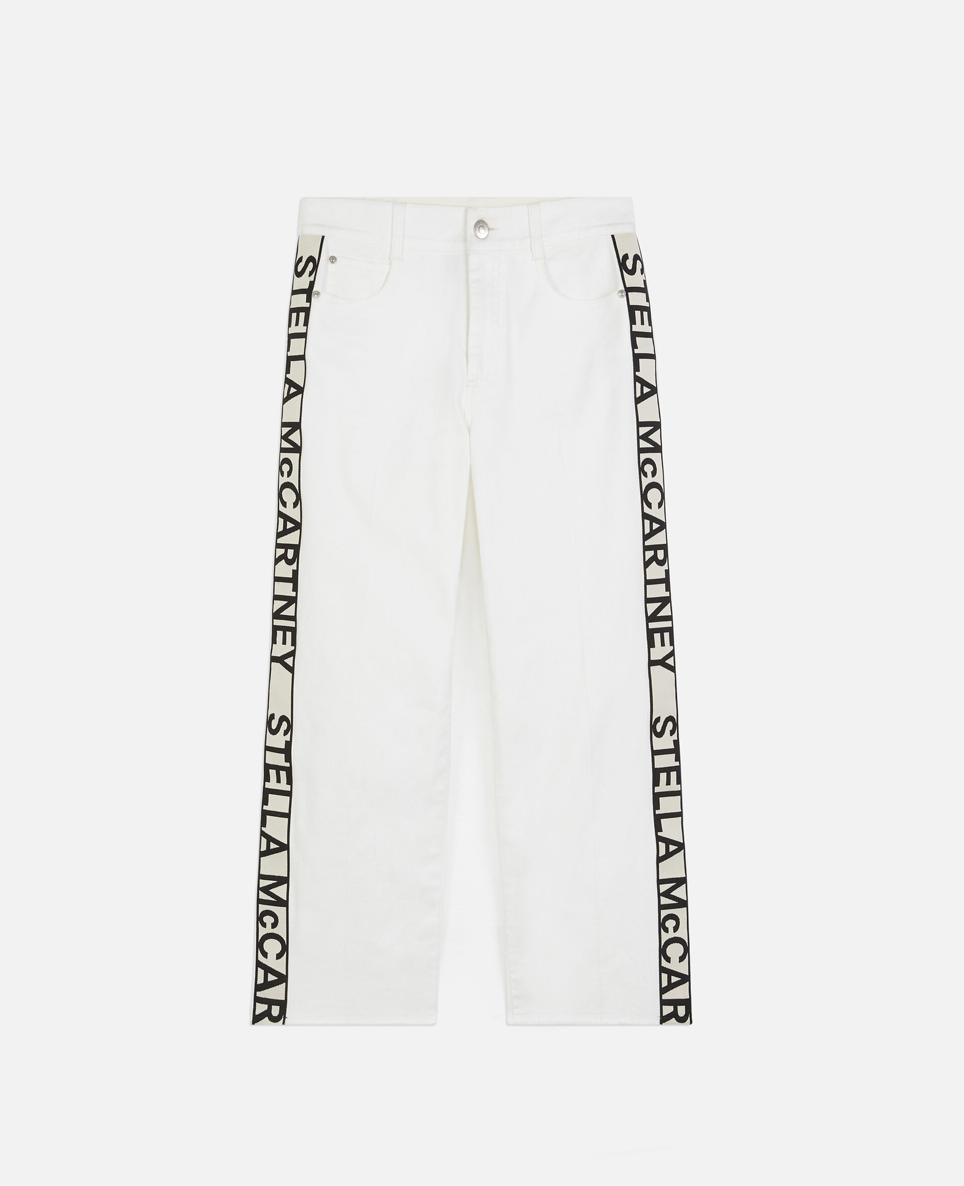 The Cropped Jeans-White-large image number 0
