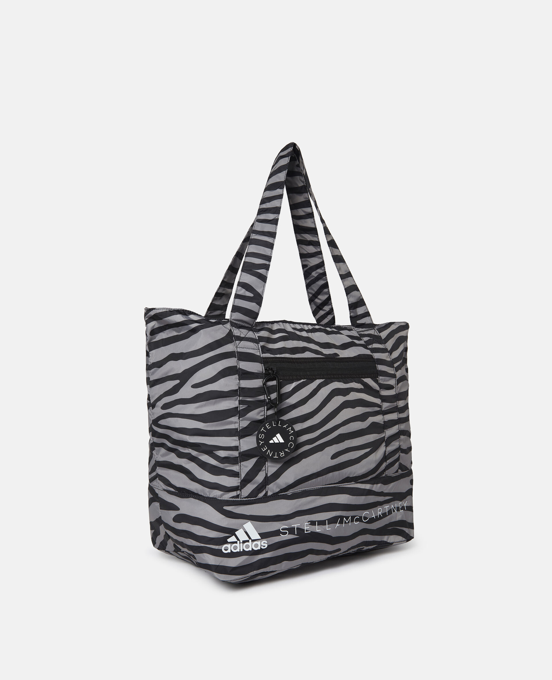 Printed Tote Bag-Multicolour-large image number 1