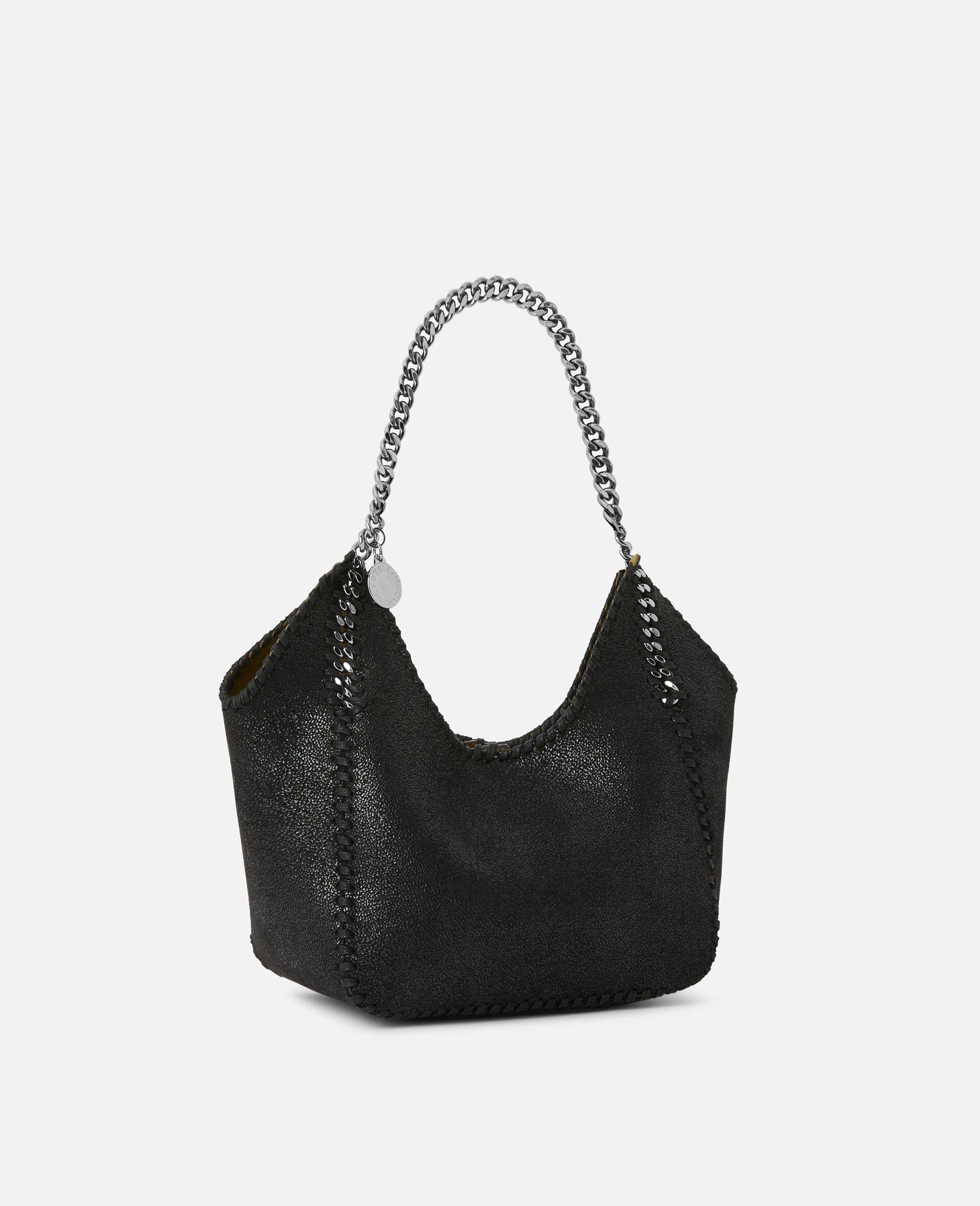 Mini Falabella Tote Bag -Black-large image number 1