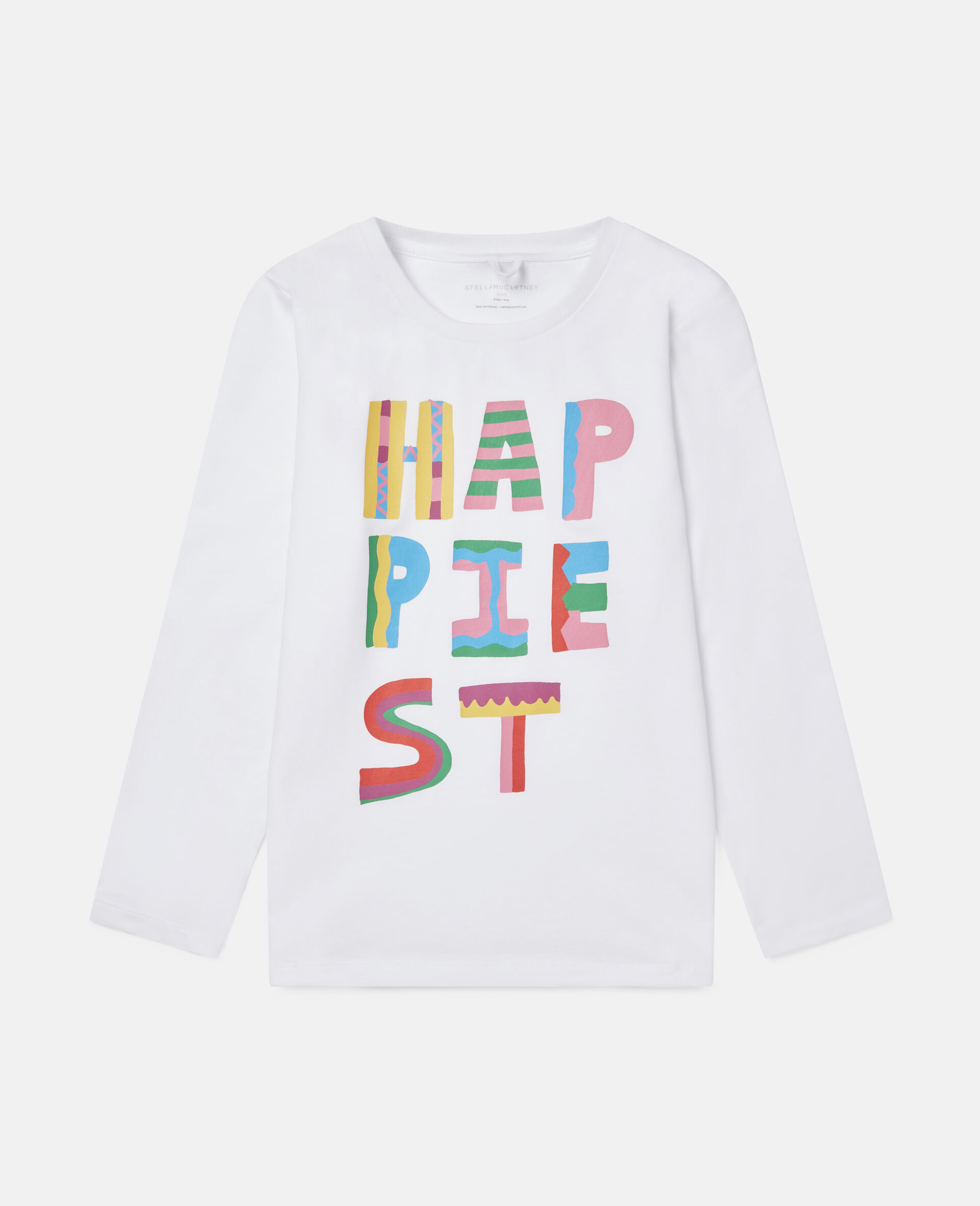 Happiest Cotton Top-White-large image number 0