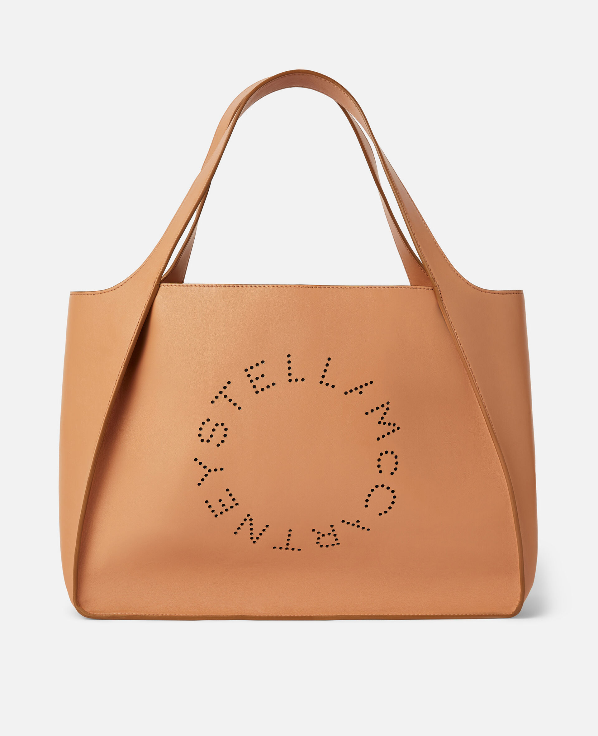 Tote con Logo Stella-Marrone-large image number 0