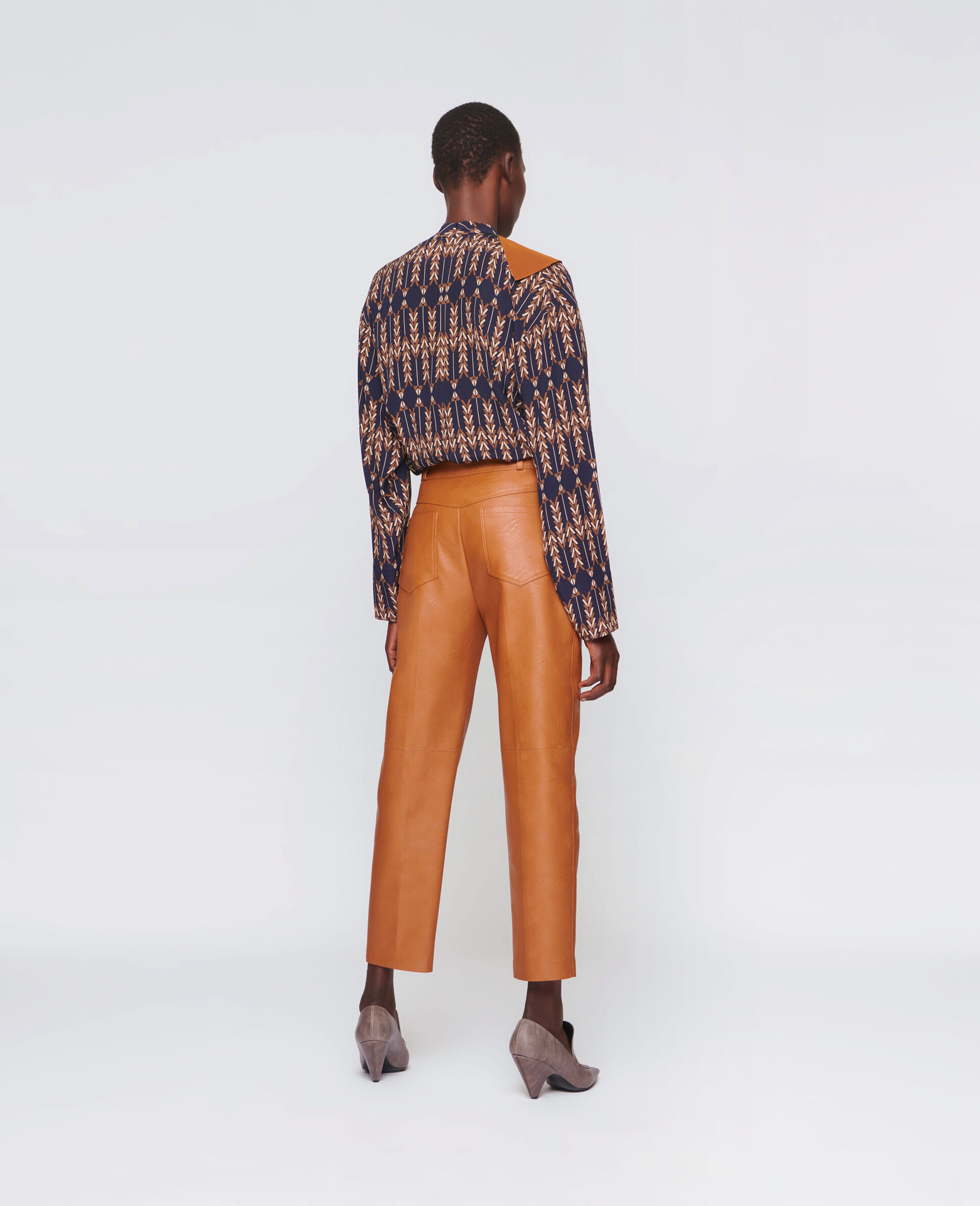 Hailey 裤装 -棕色-large image number 2