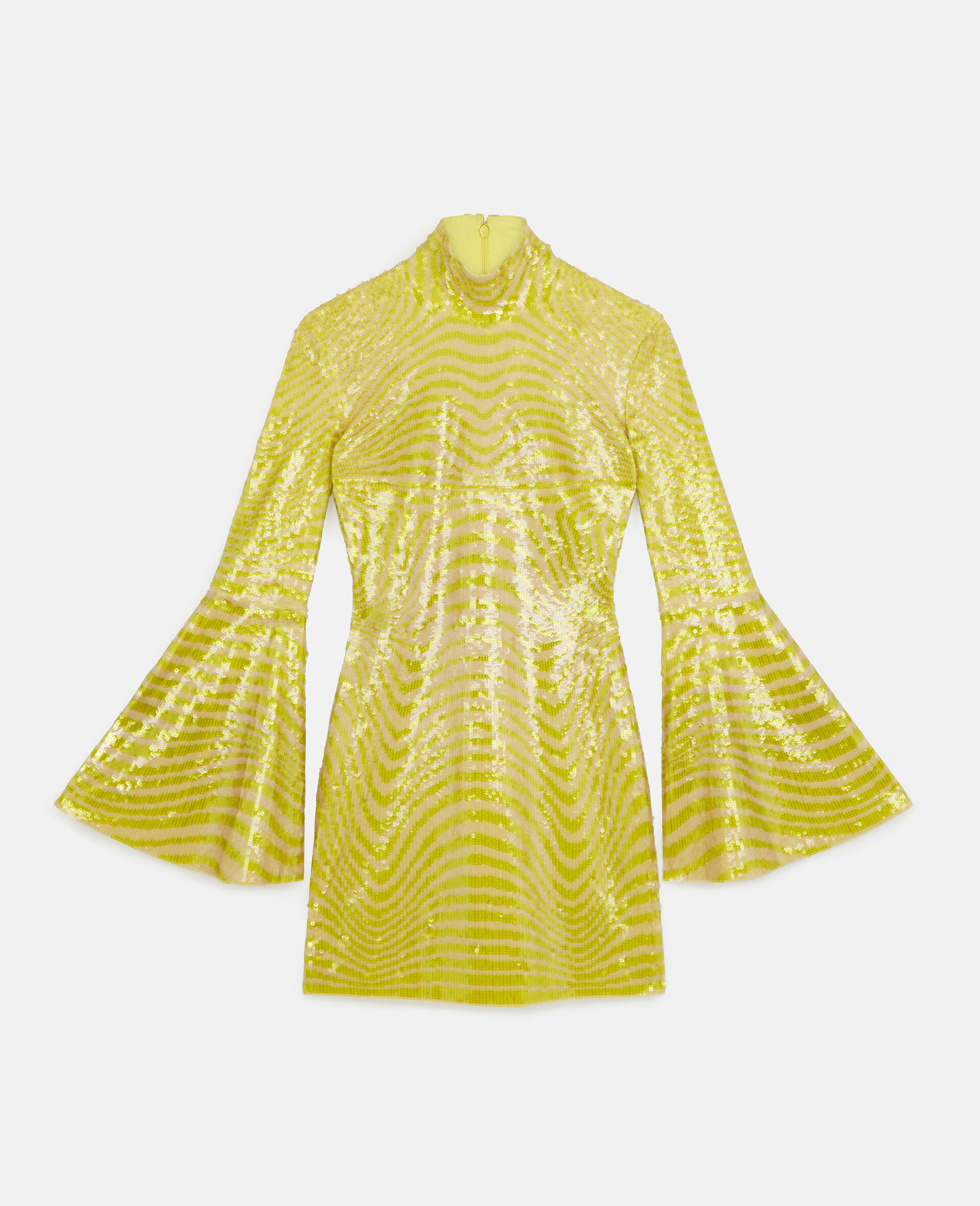 Milly Mini Dress-Yellow-large image number 0