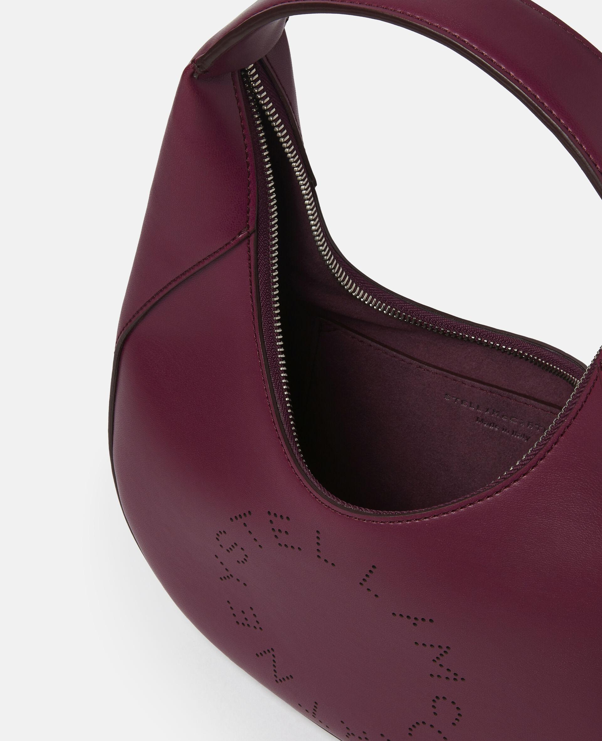Small Stella Logo Shoulder Bag-Black-large image number 3