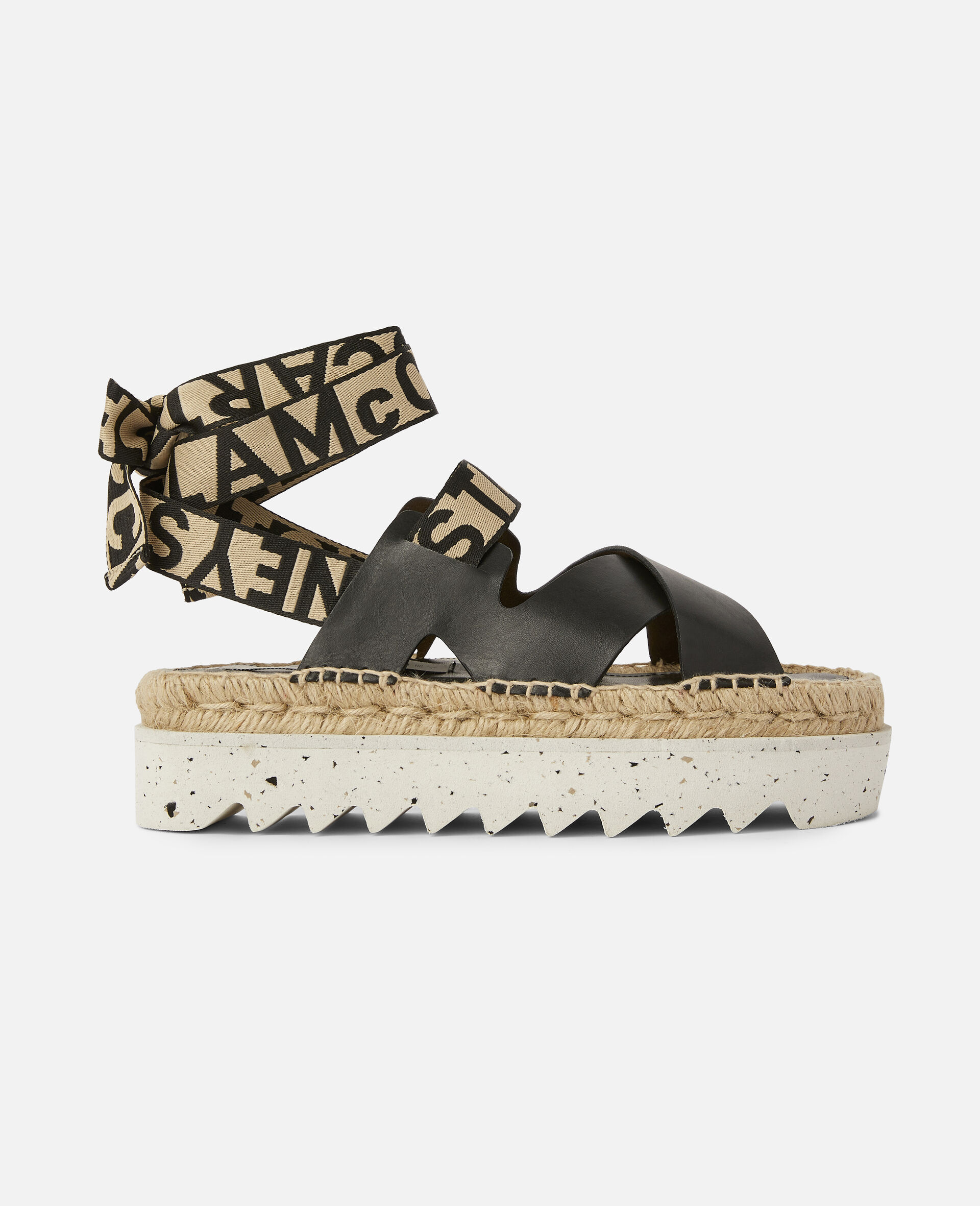 Gaia Alter Mat Sandals-Black-large image number 0